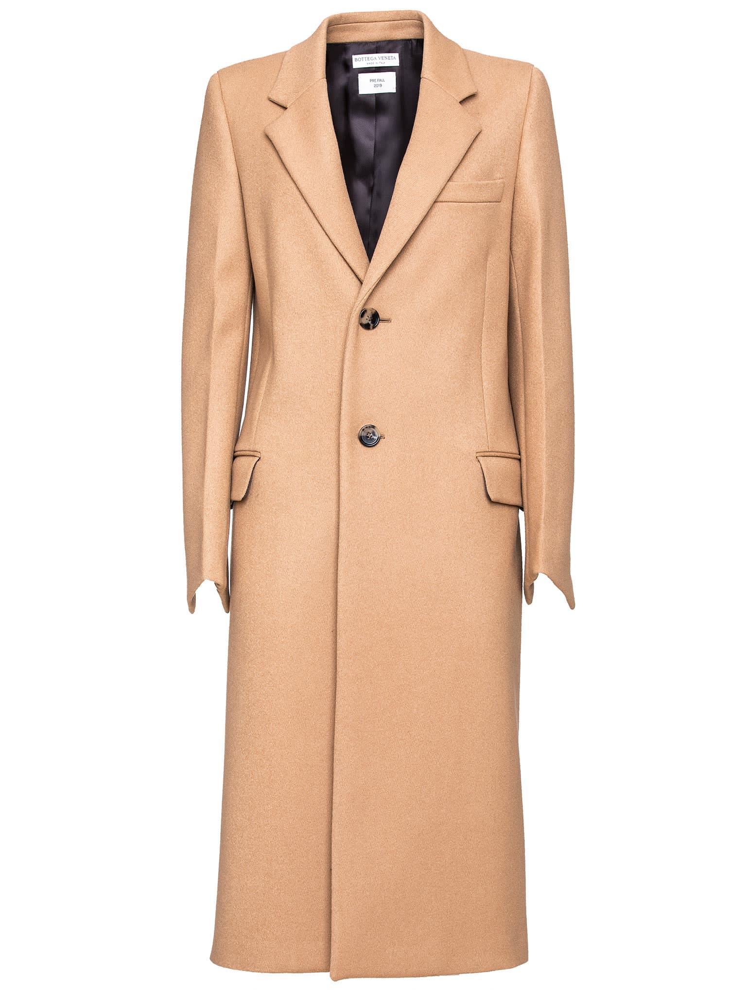 Bottega Veneta Single-breasted Coat