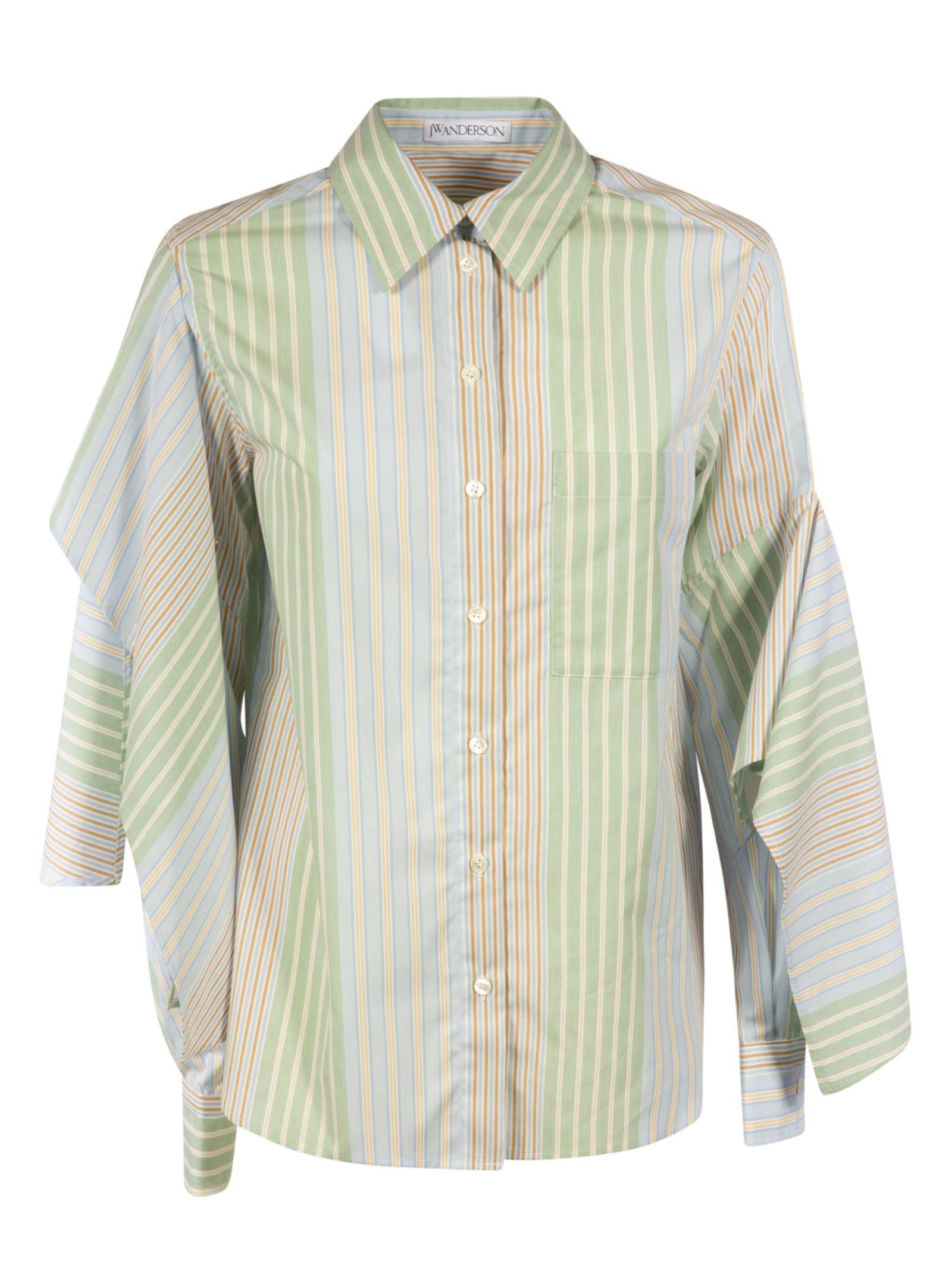J.W. Anderson Draped Sleeve Shirt