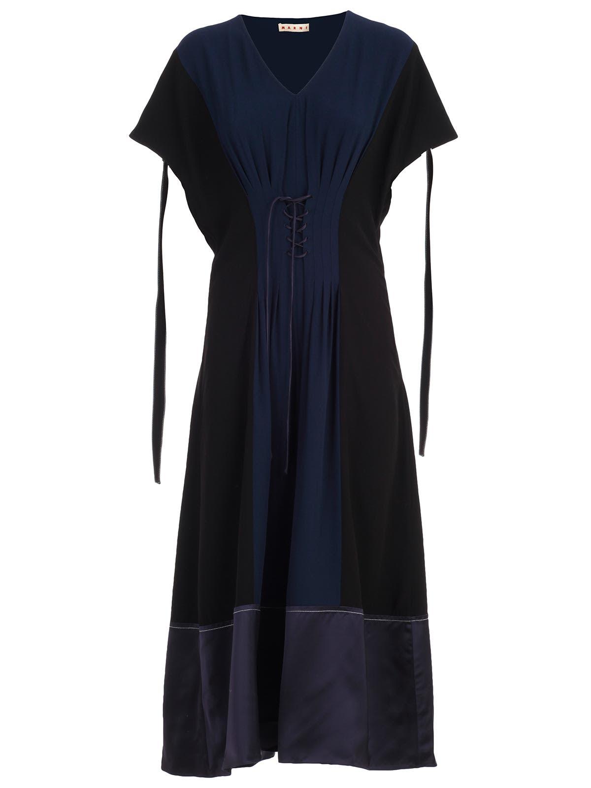 Marni Dress W & s Crepe Satin