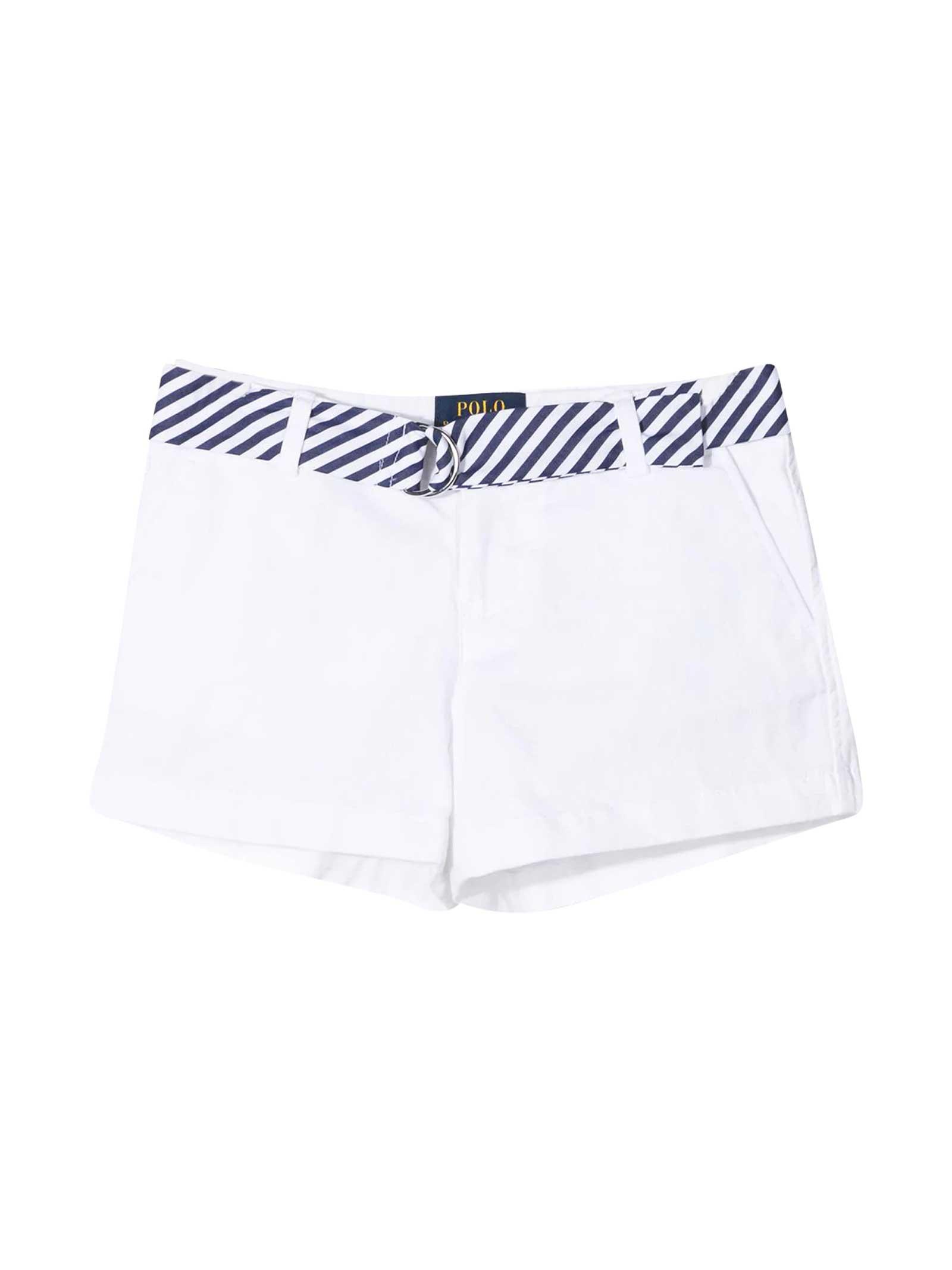 Ralph Lauren White Shorts
