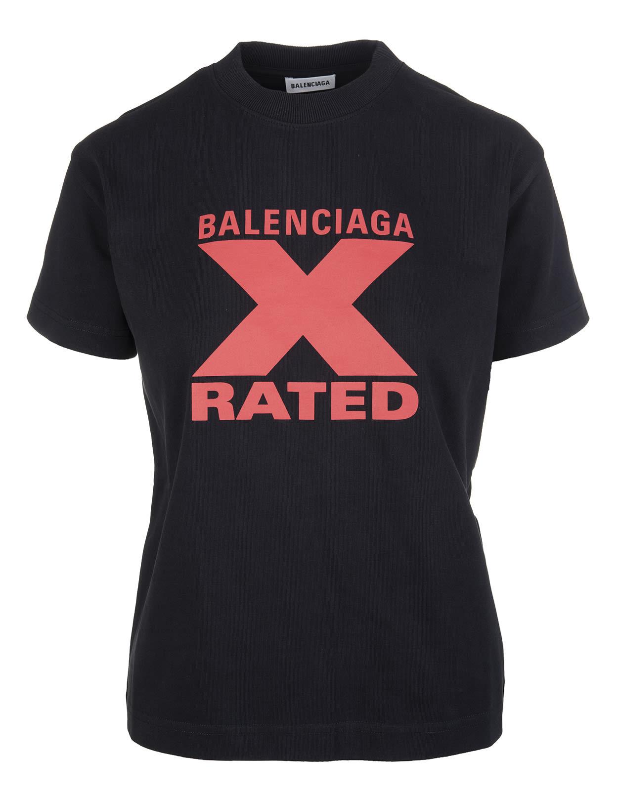 Black Woman X-rated Slim T-shirt