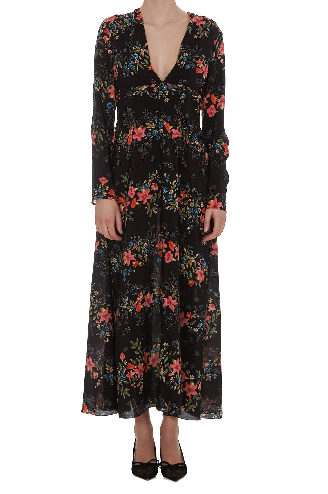 Buy Red Valentino Dress Floral Balances online, shop RED Valentino with free shipping