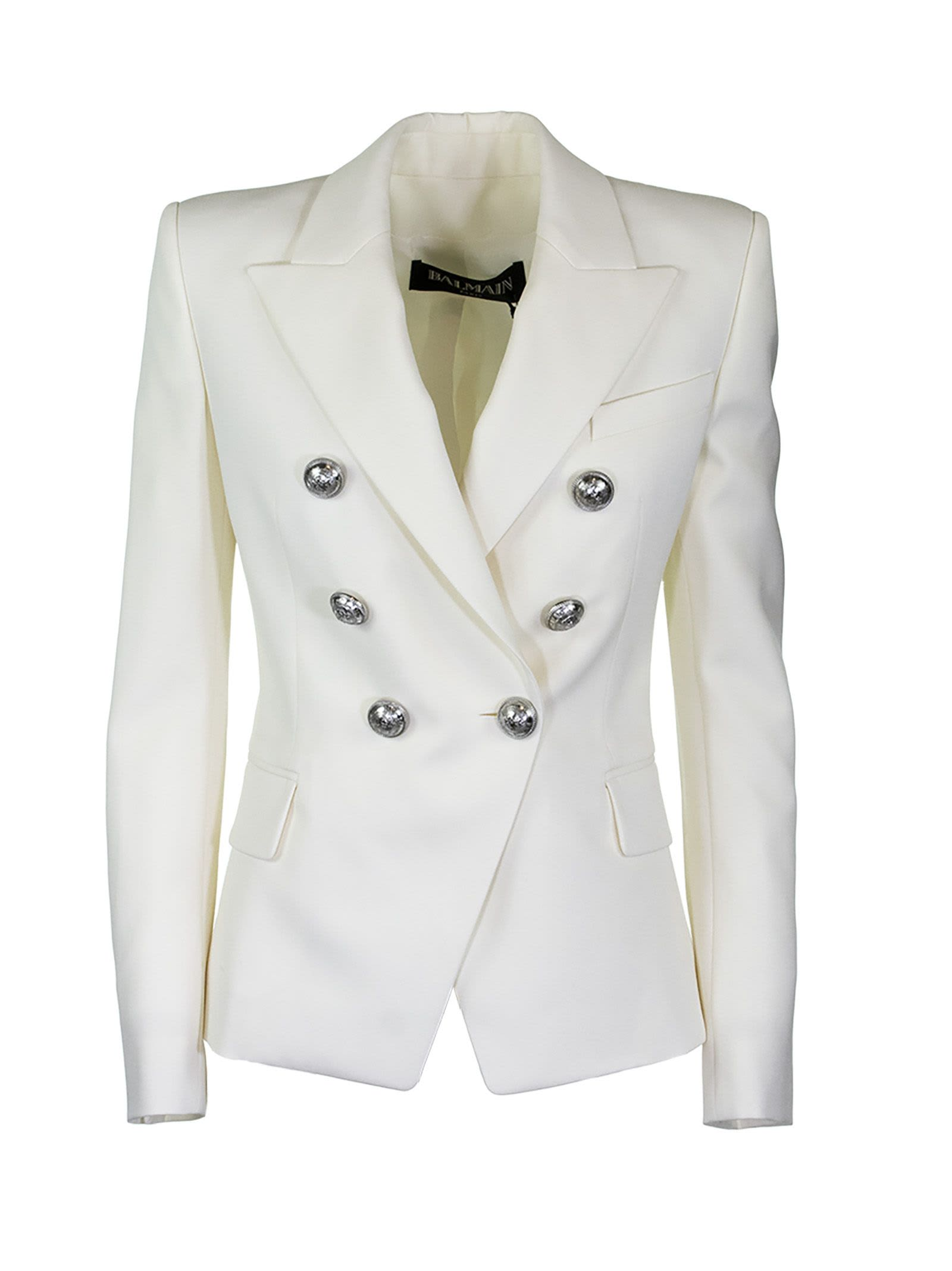 Balmain Jacket Blanc