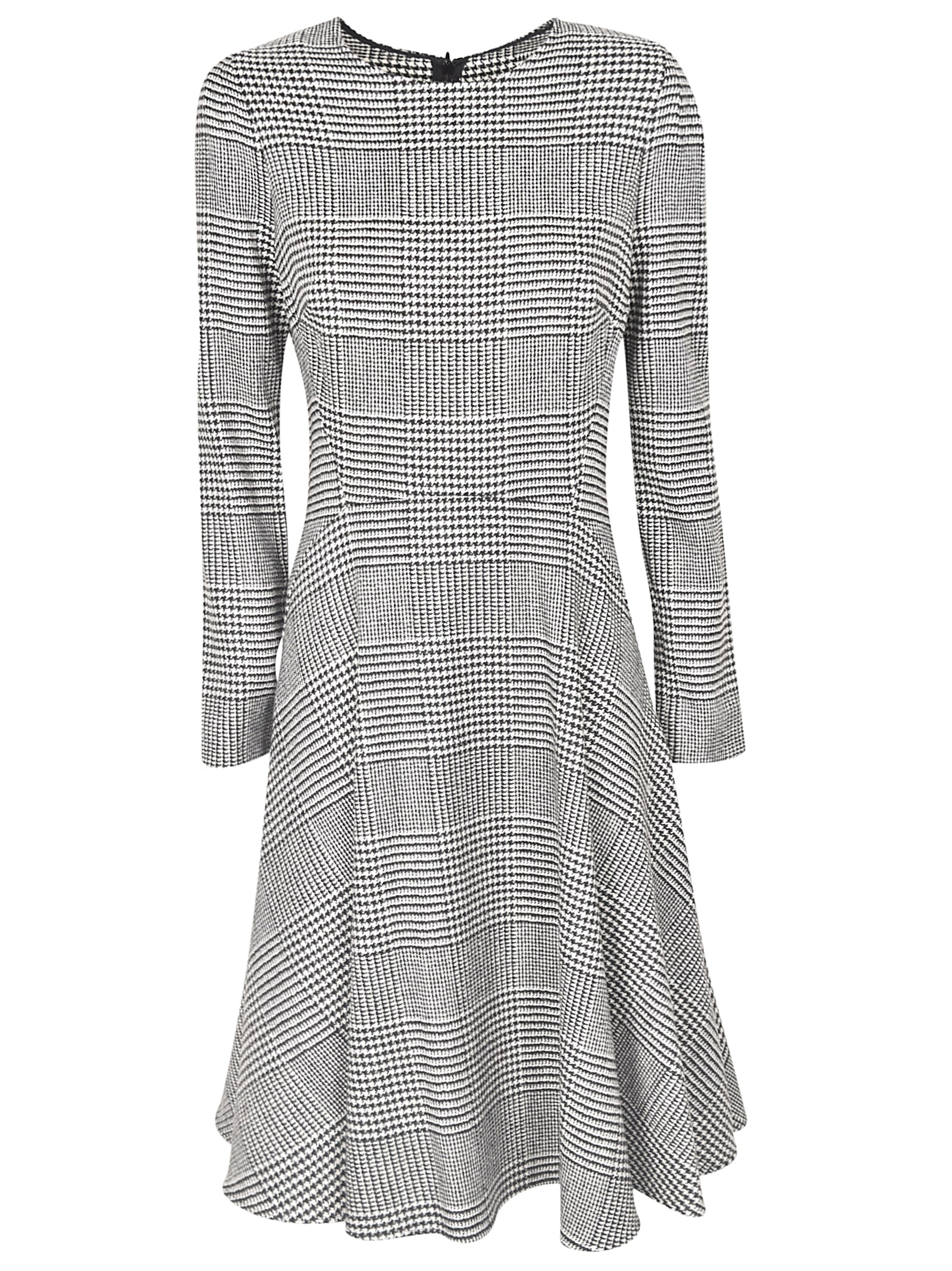 Ermanno Scervino Checked Dress