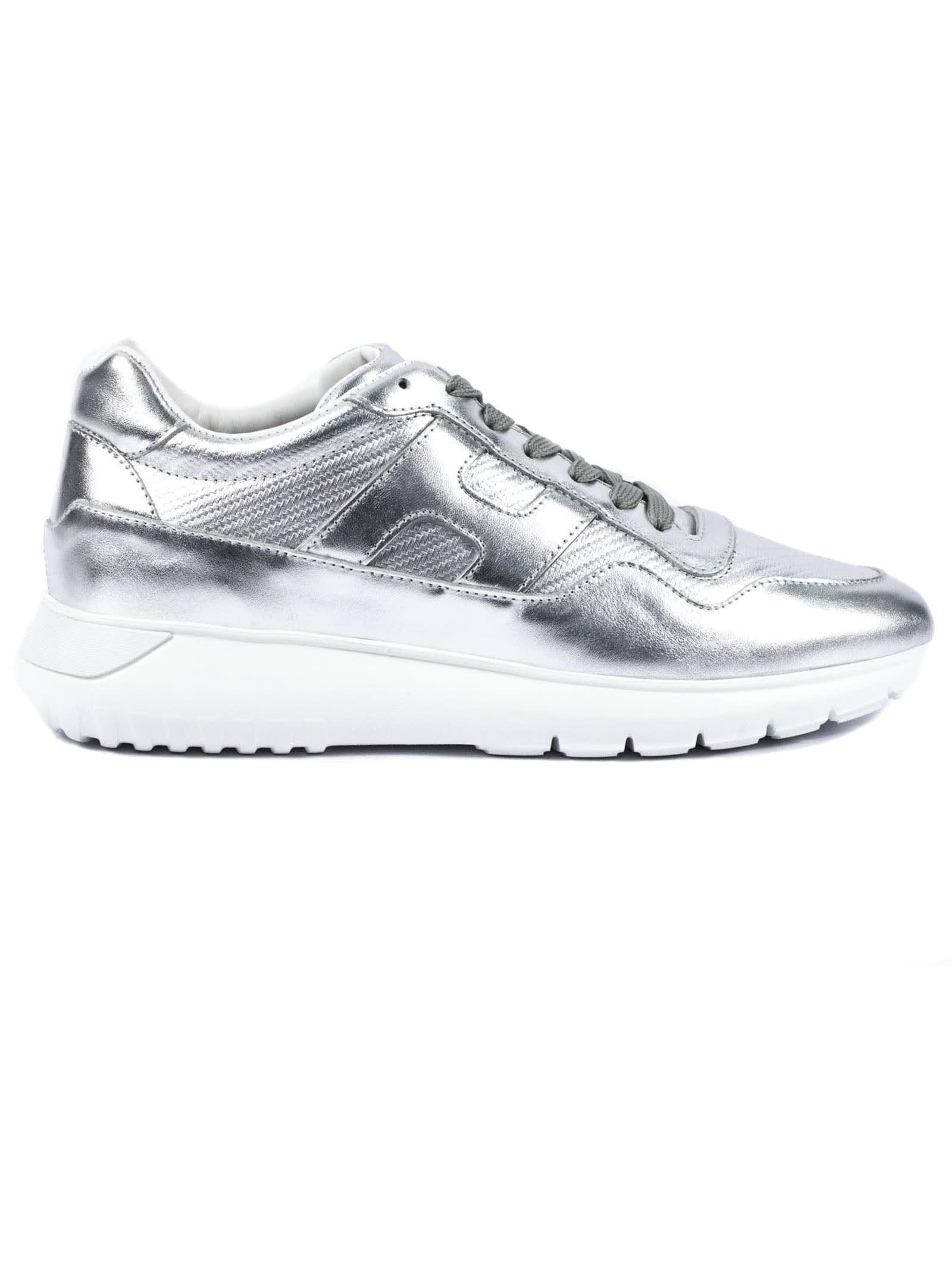 Hogan Silver Interactive³ Sneaker
