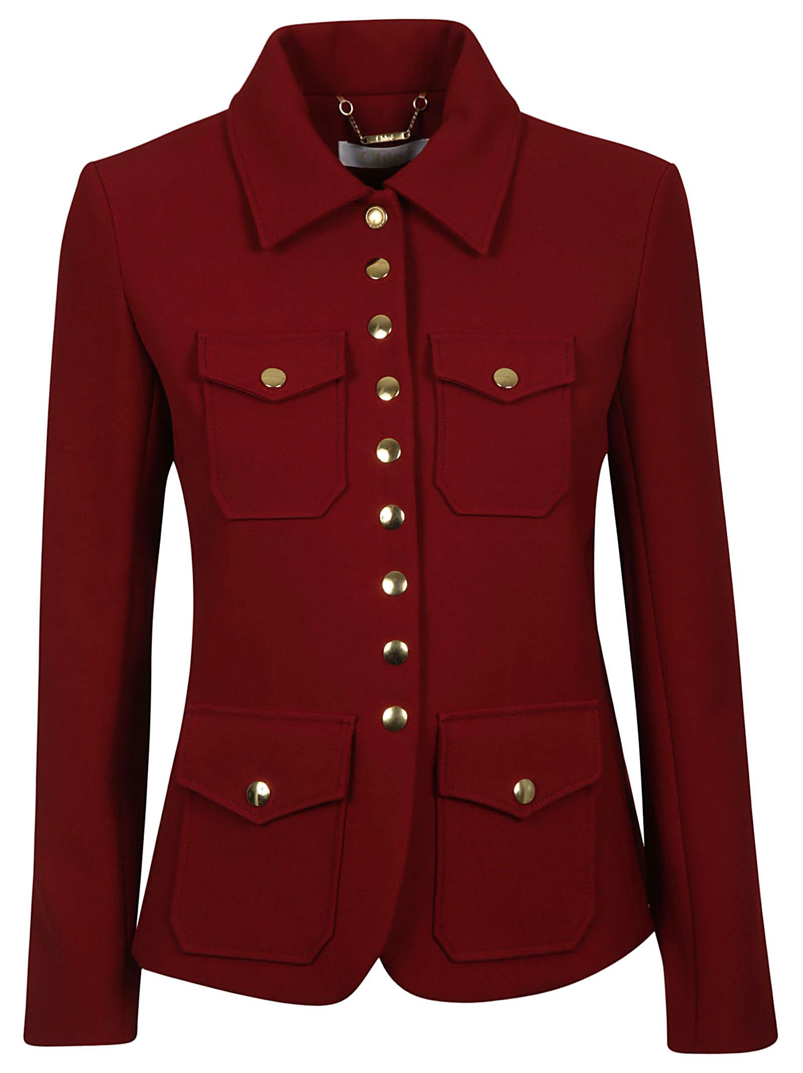 Chloé Button Up Jacket