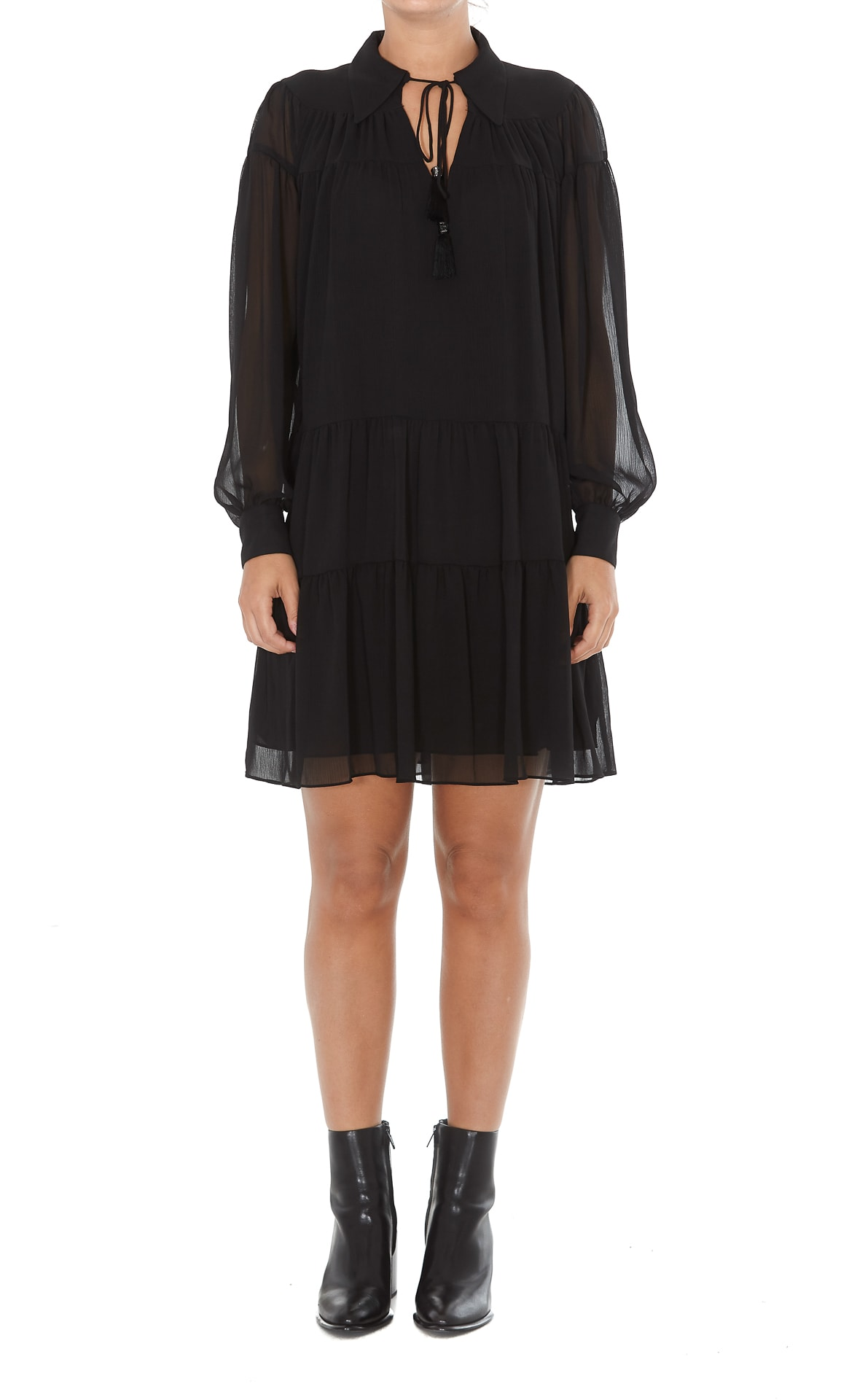 Michael Michael Kors Crinkle Dress