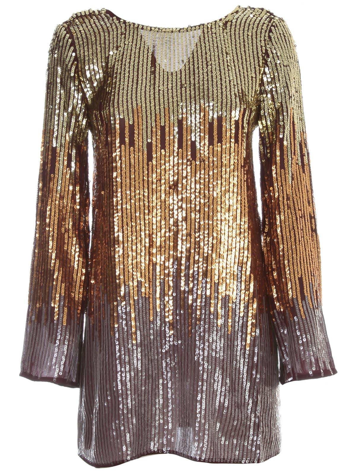 Buy RIXO Dress L/s Mini Sequin online, shop RIXO with free shipping