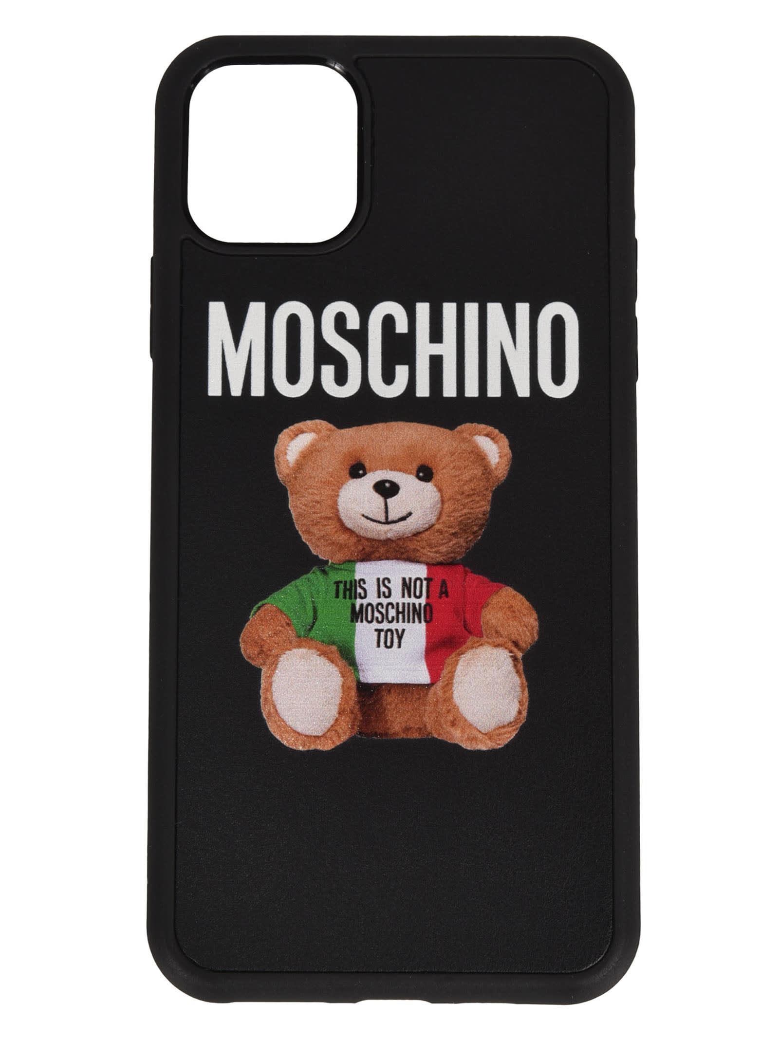 Moschino LOGO BEAR PHONE CASE