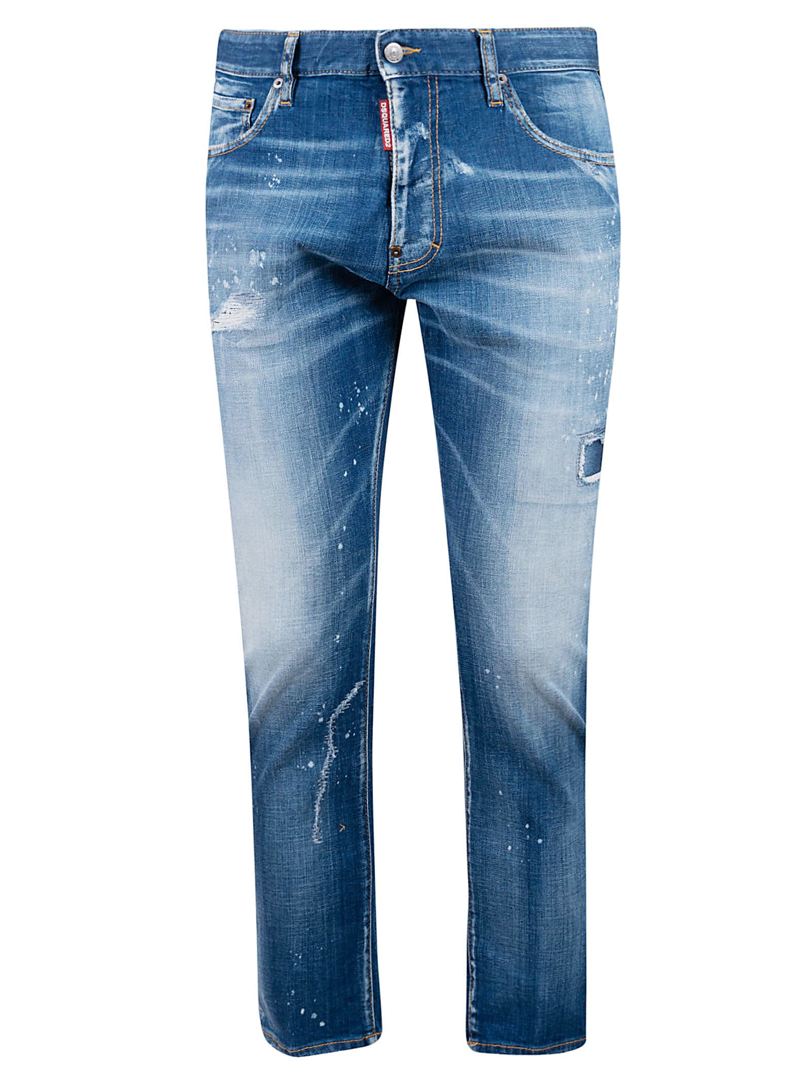 Dsquared2 Fade Effect4 Distressed Jeans