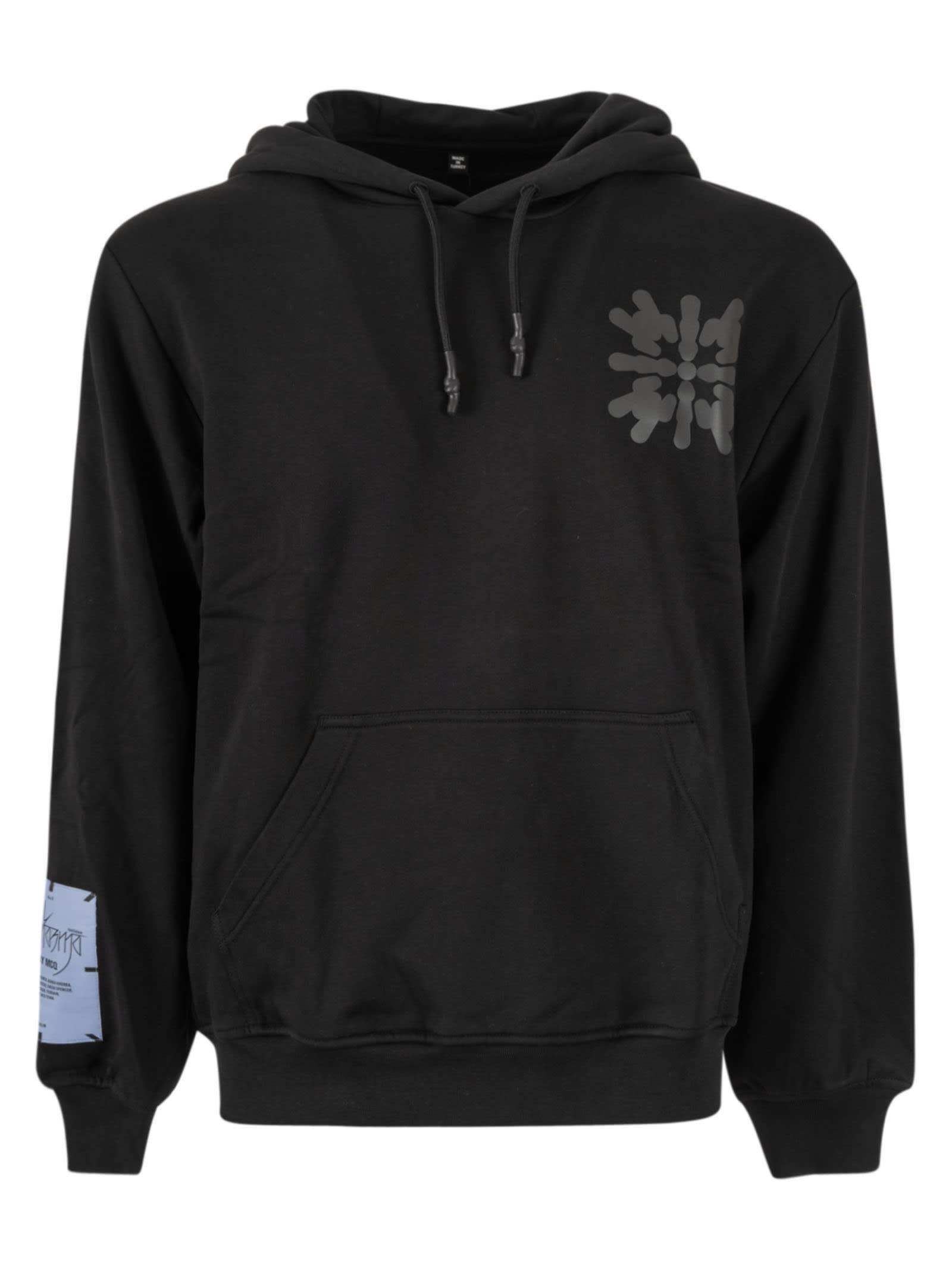 Mcq By Alexander Mcqueen Clothing REAR PRINT LOGO PATCHED HOODIE
