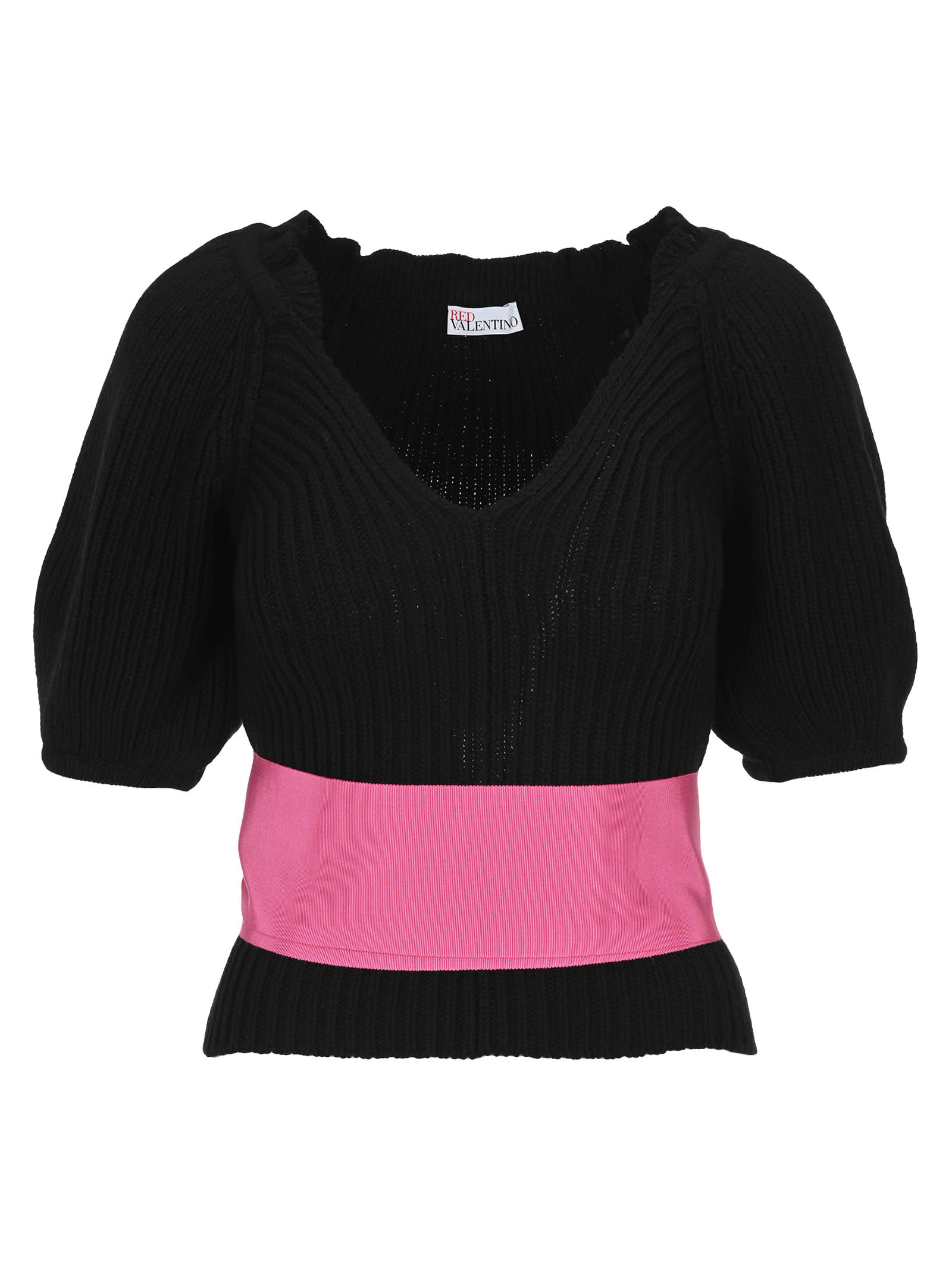 Red Valentino Bow Embellished Sweater