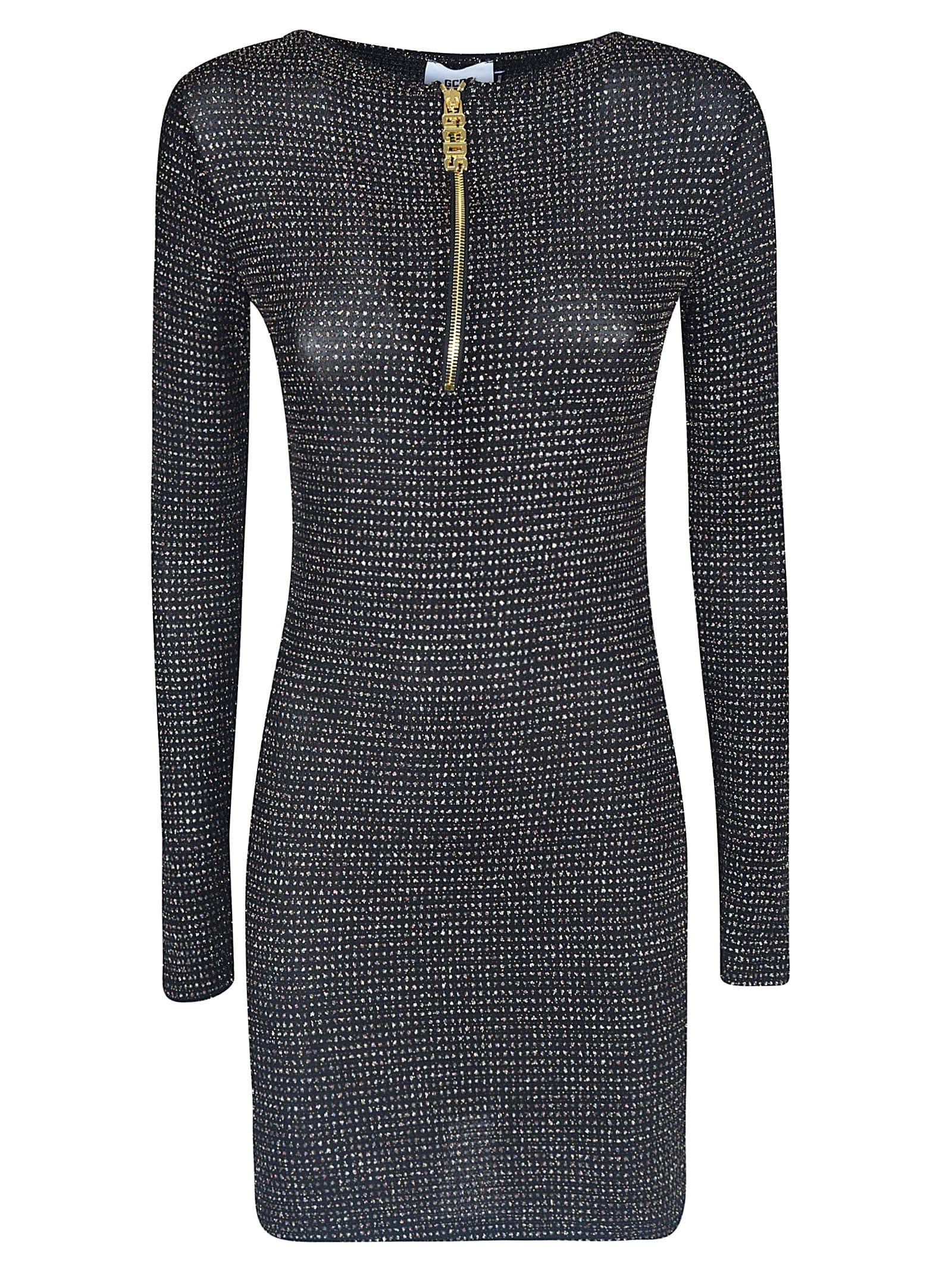 GCDS Zipped Fitted Dress