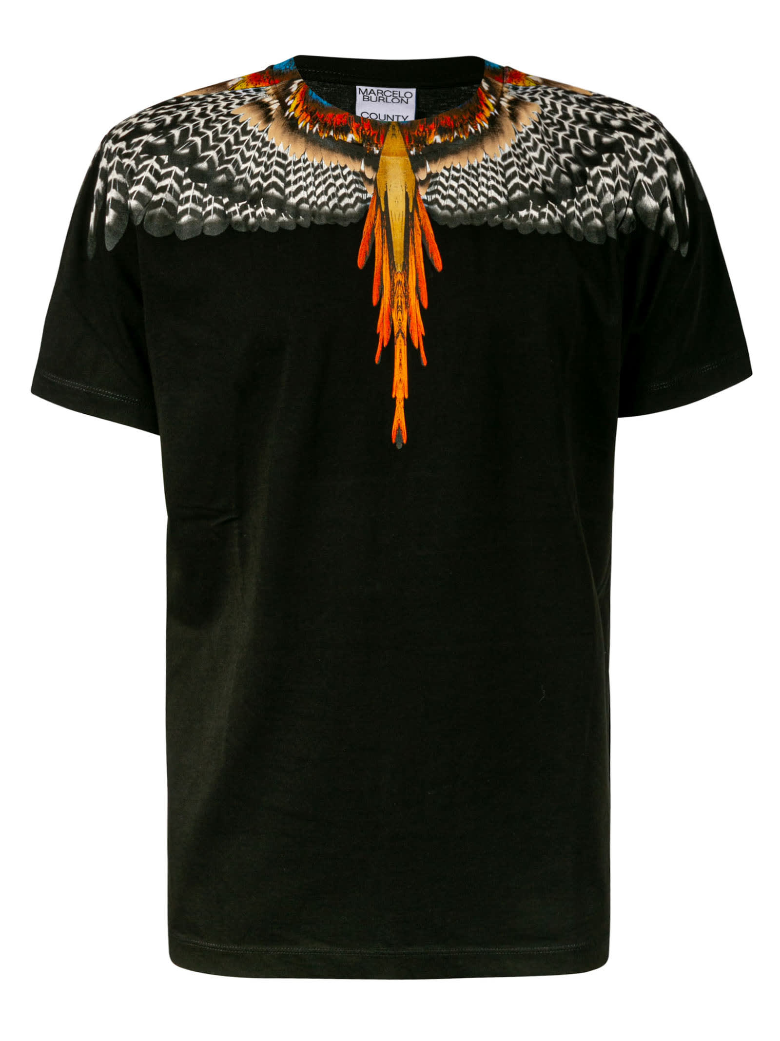 Marcelo Burlon County Of Milan Cottons GRIZZLY WINGS REGULAR T-SHIRT