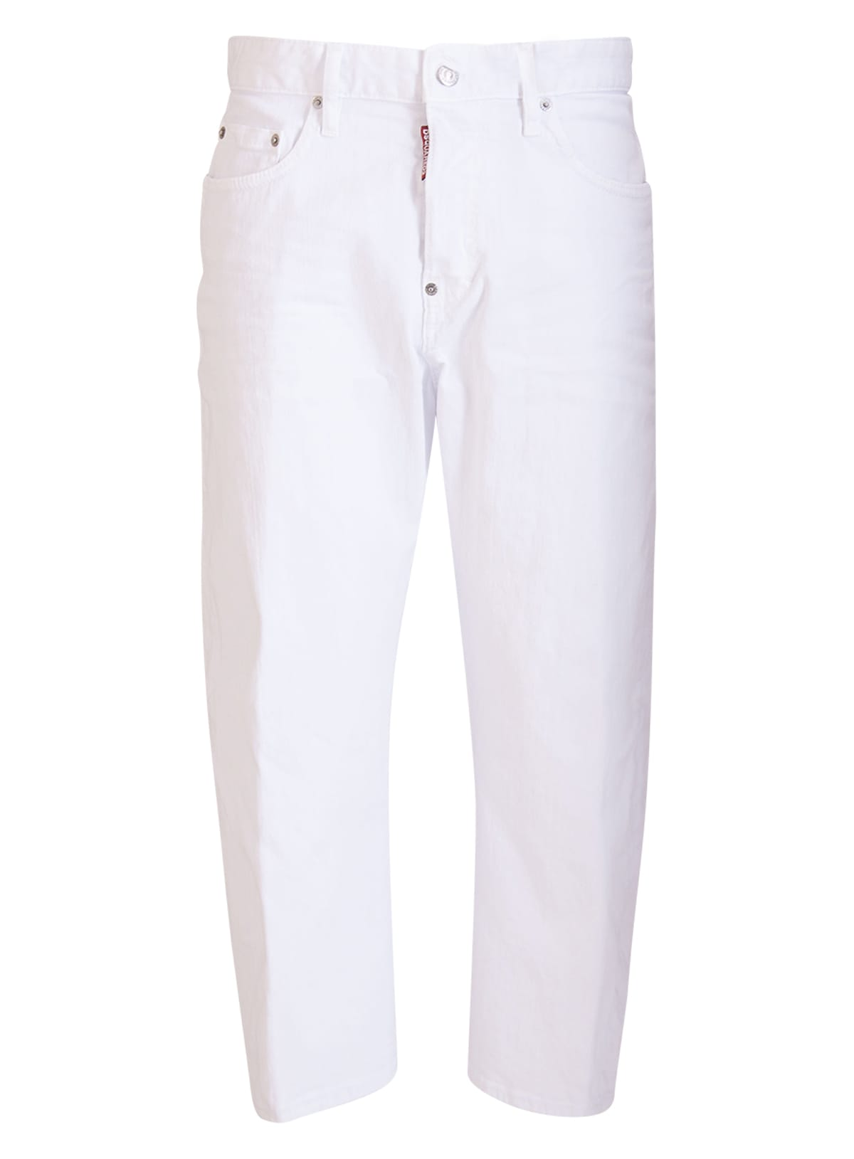 Dsquared2 Cottons DSQUARED CROPPED JEANS