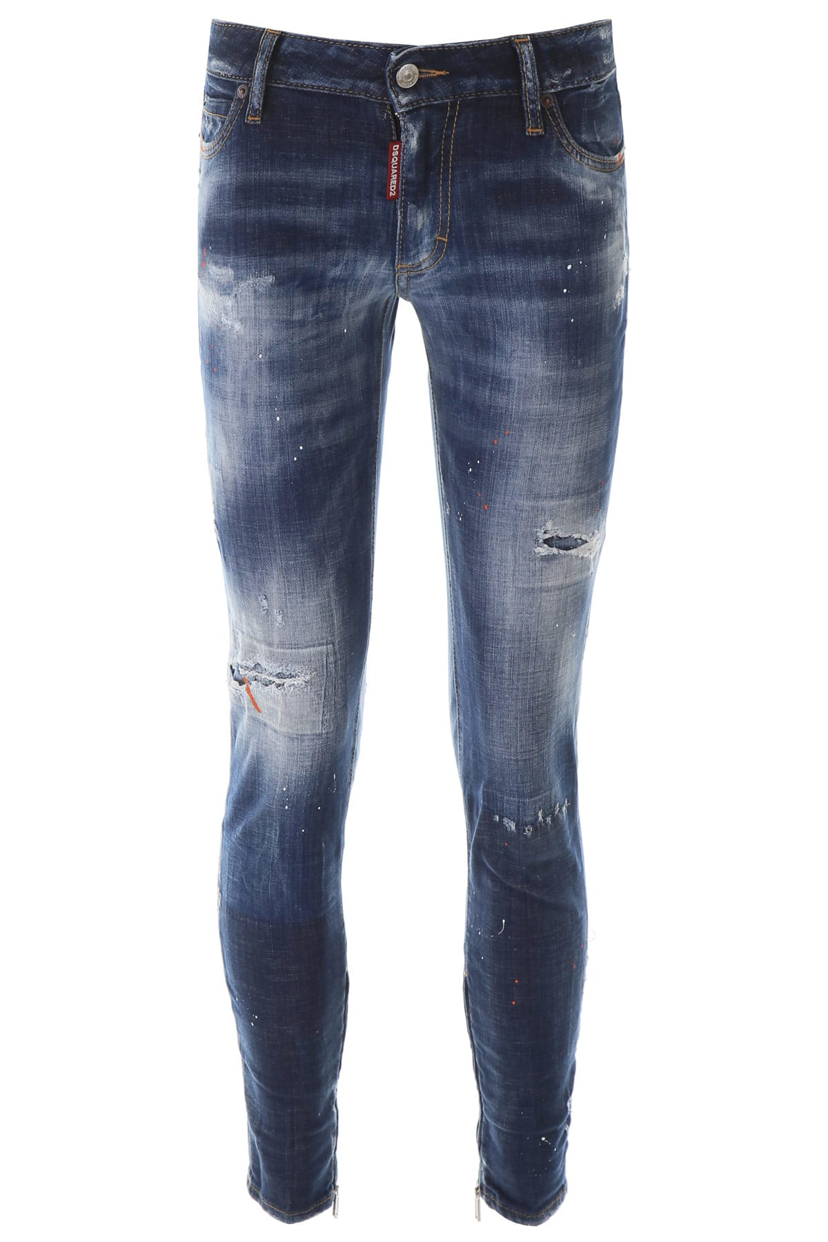 Dsquared2 Jeans With Zipped Cuffs
