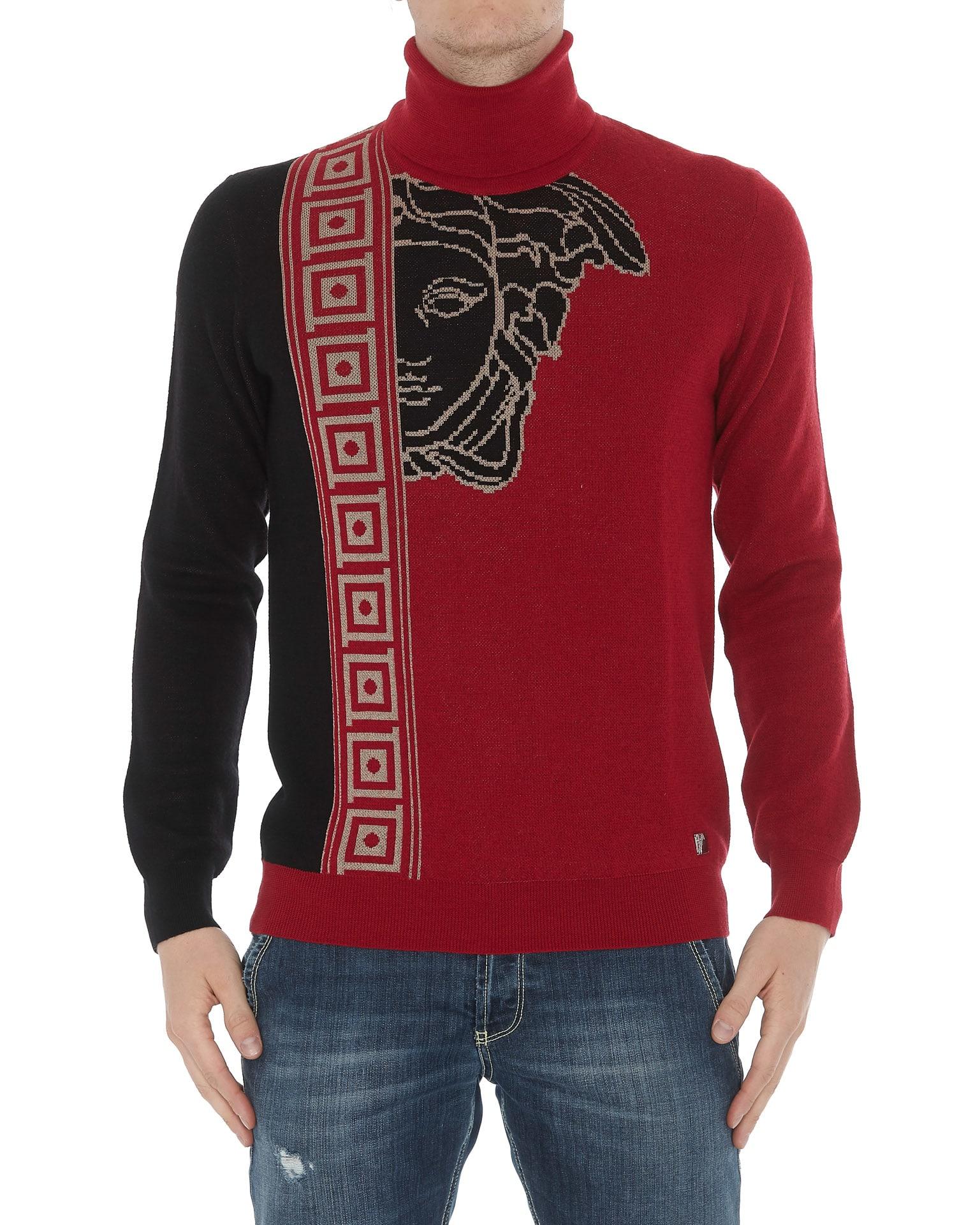 buy online ef5f3 3044c Versace Collection Logo Medusa Pullover