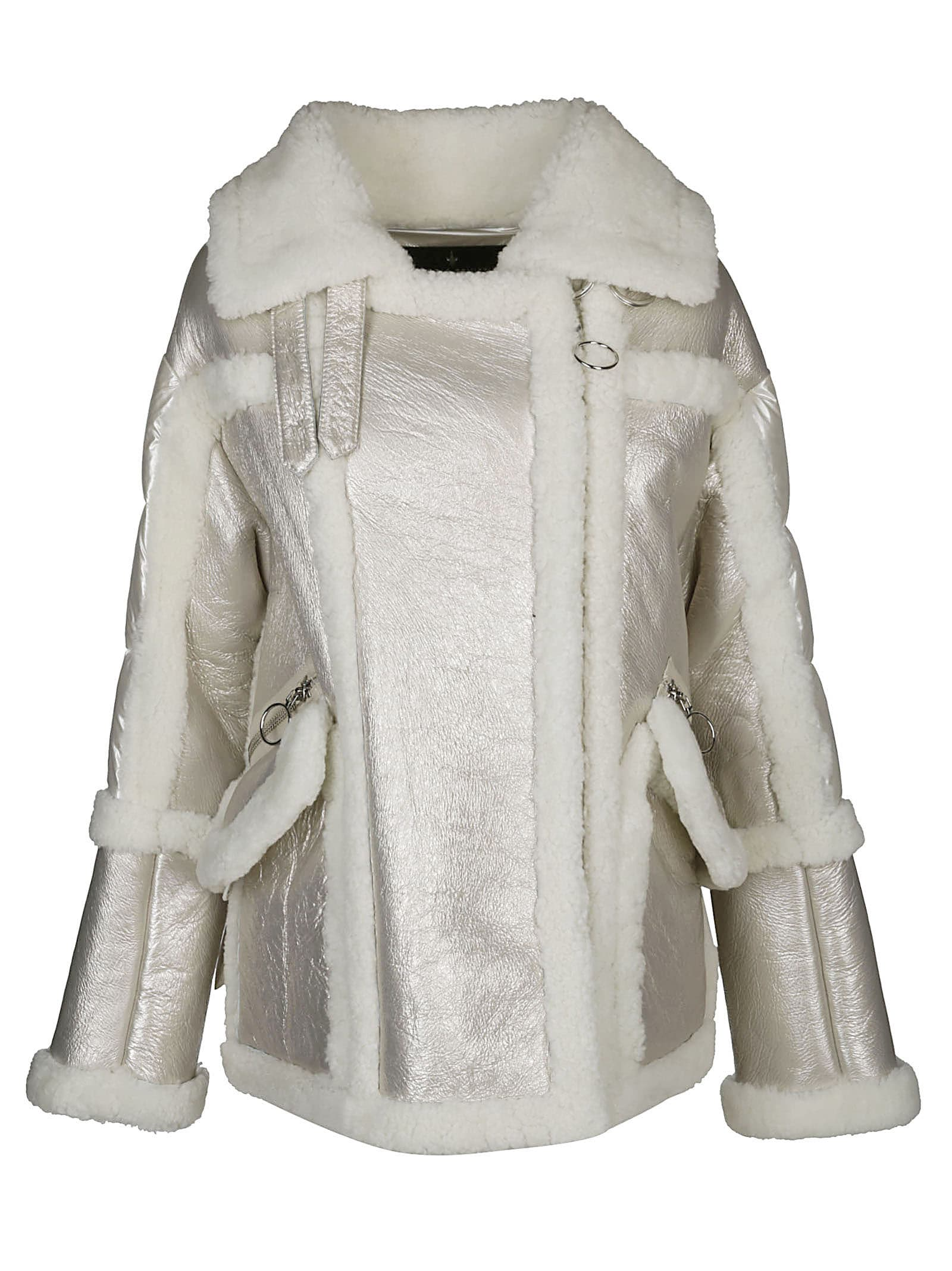 Nicole Benisti Montaign Shearing-trim Jacket