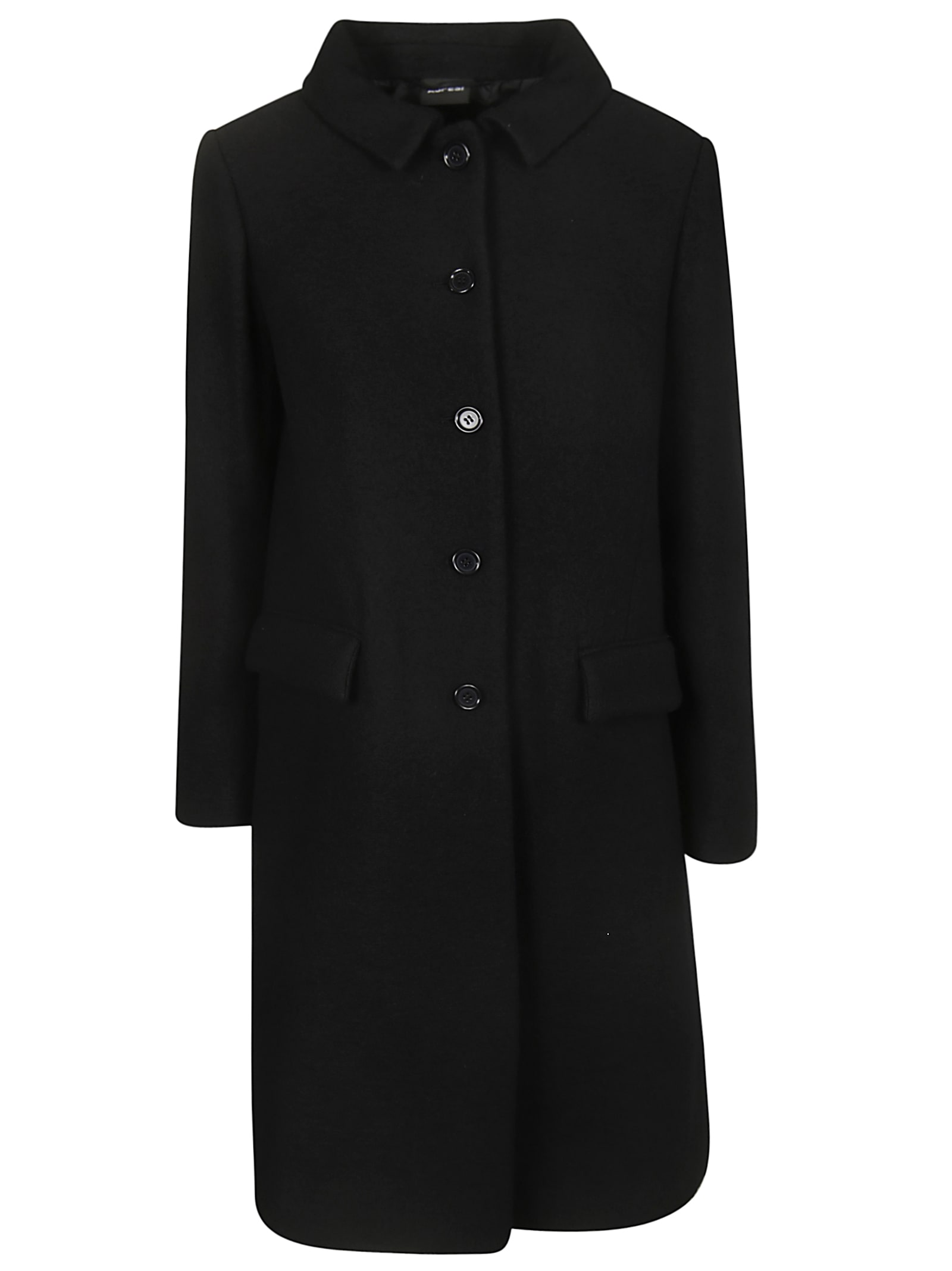Aspesi Single Breasted Mid-length Coat