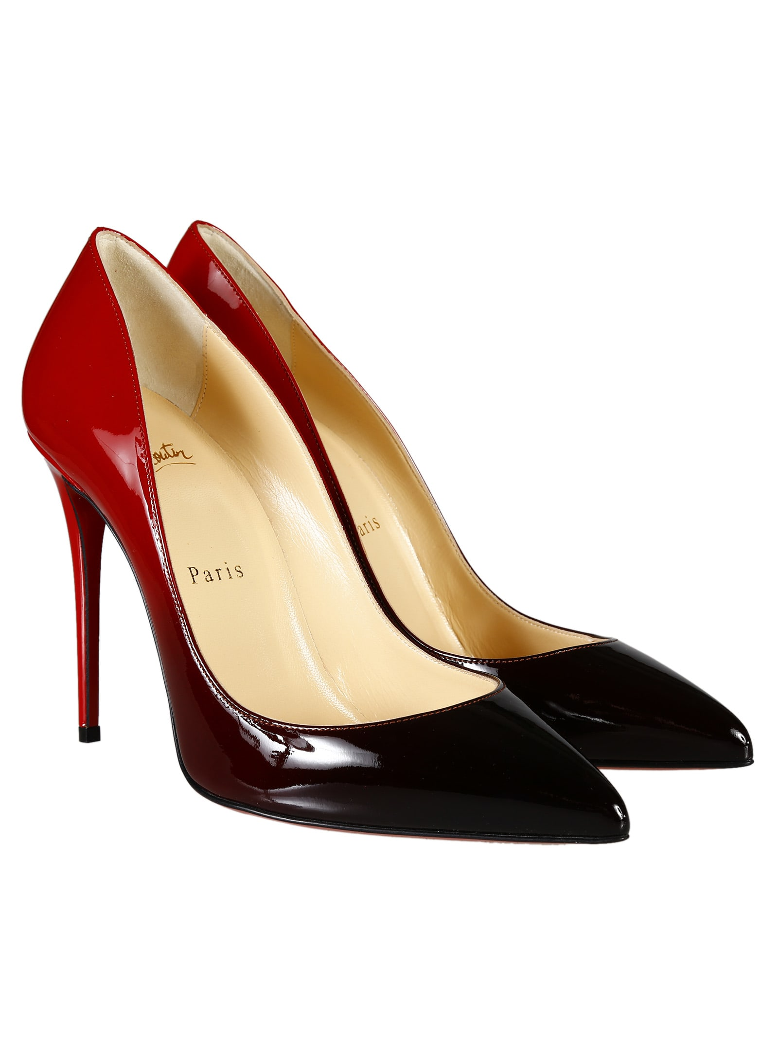 quality design b0069 bf68e Best price on the market at italist | Christian Louboutin Christian  Louboutin Pigalle Follies 100 Pumps