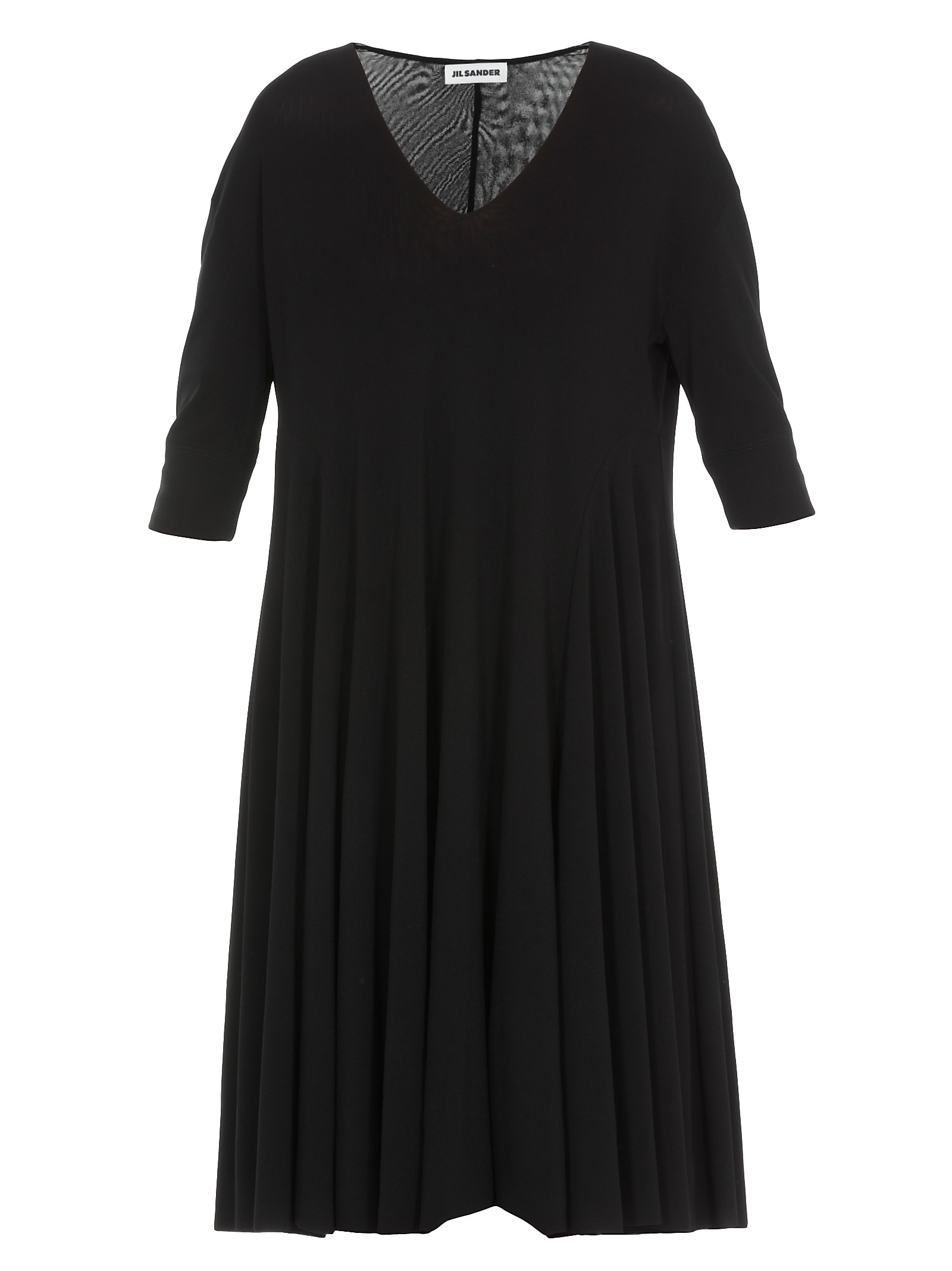Jil Sander Flared Dress