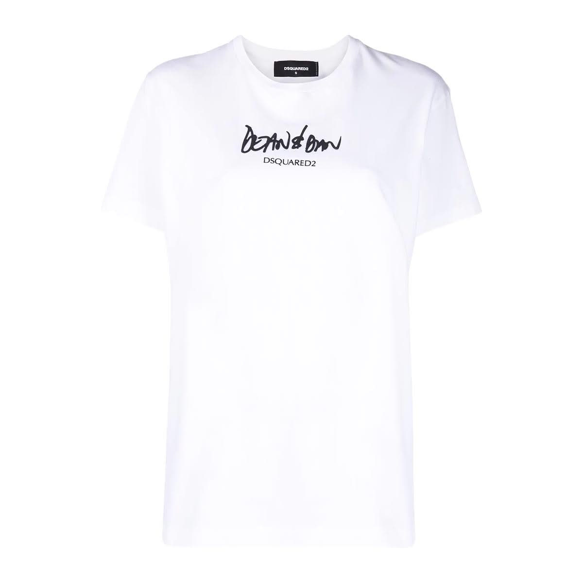 Dsquared2 T-shirt Bianca Donna