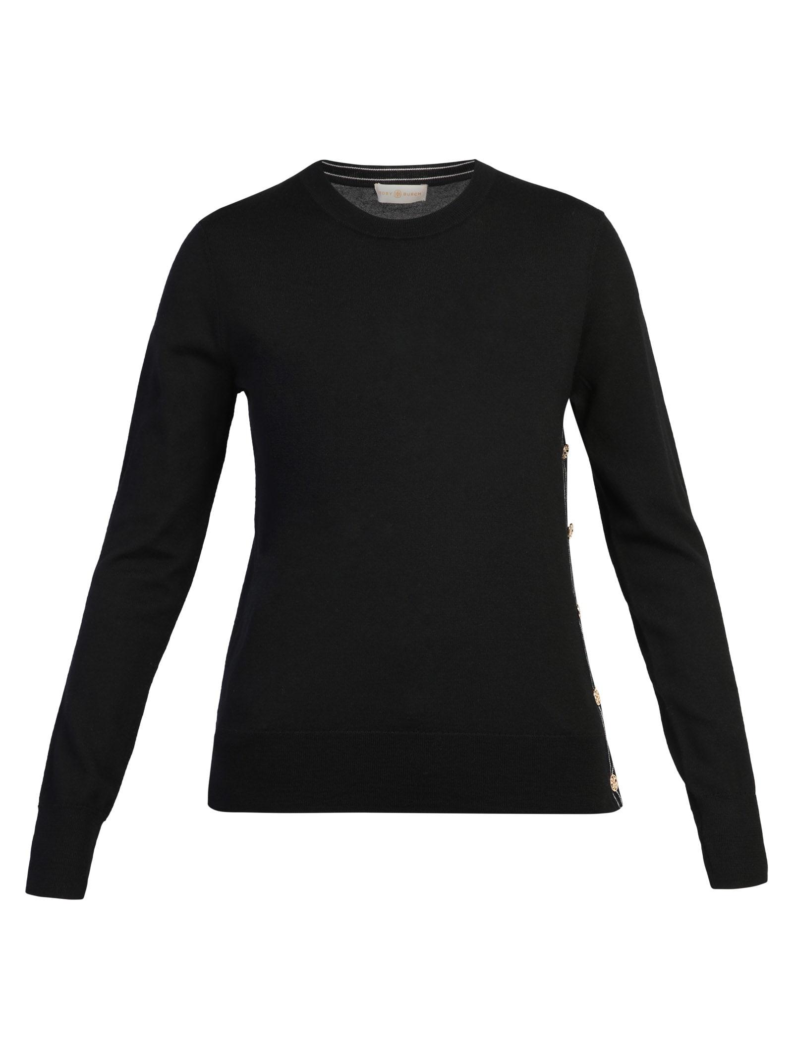 Tory Burch Sweaters BLACK SWEATER