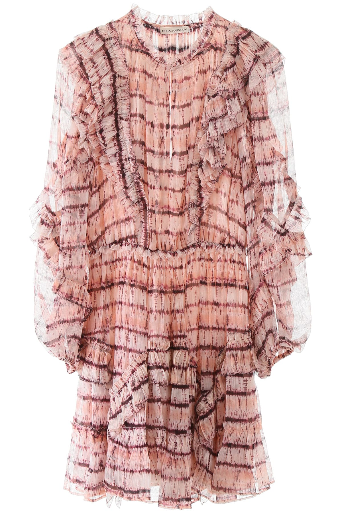 Buy Ulla Johnson Aberdeen Tie-dye Dress online, shop Ulla Johnson with free shipping