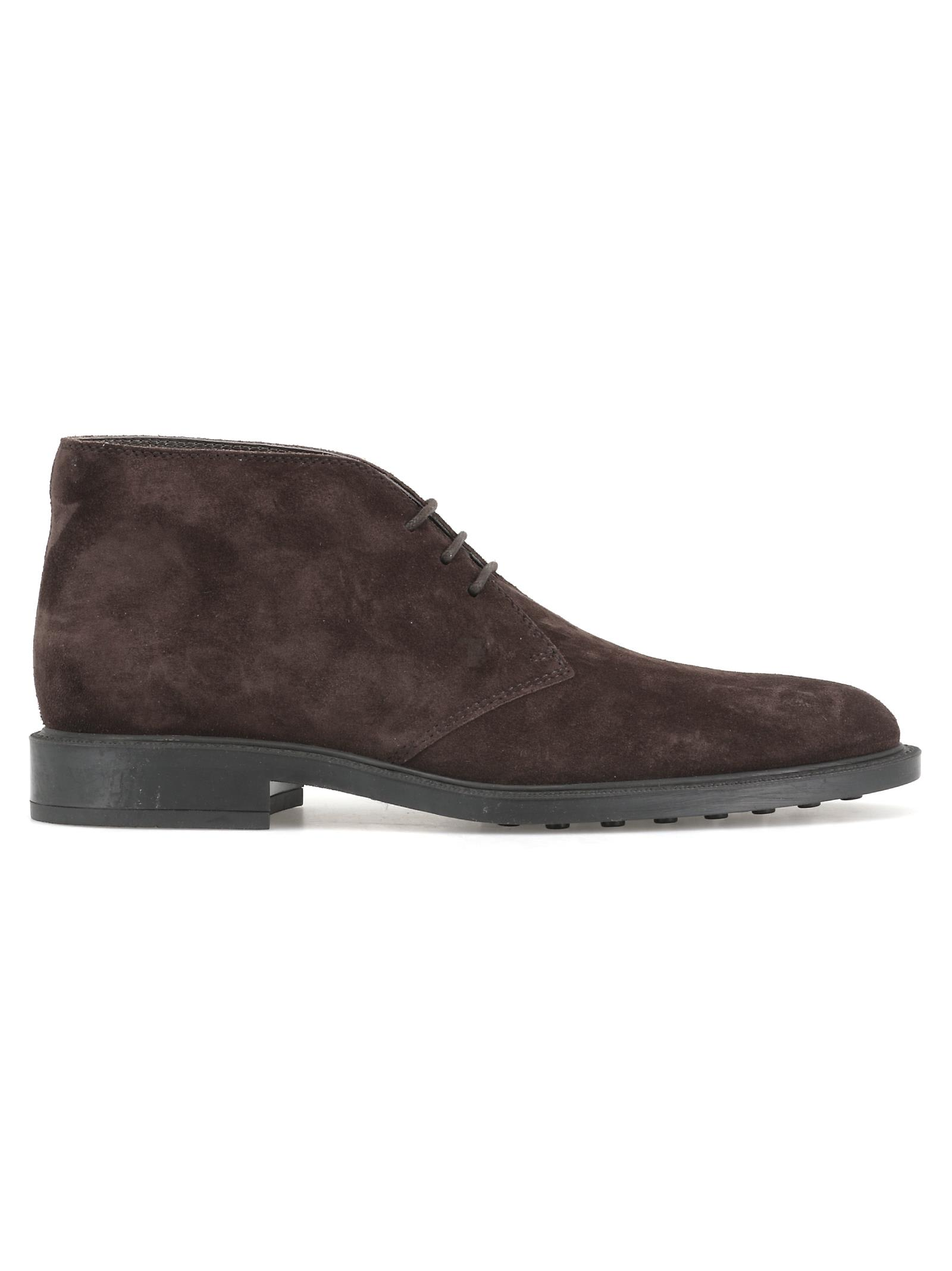 Tods Leather Desert Boot