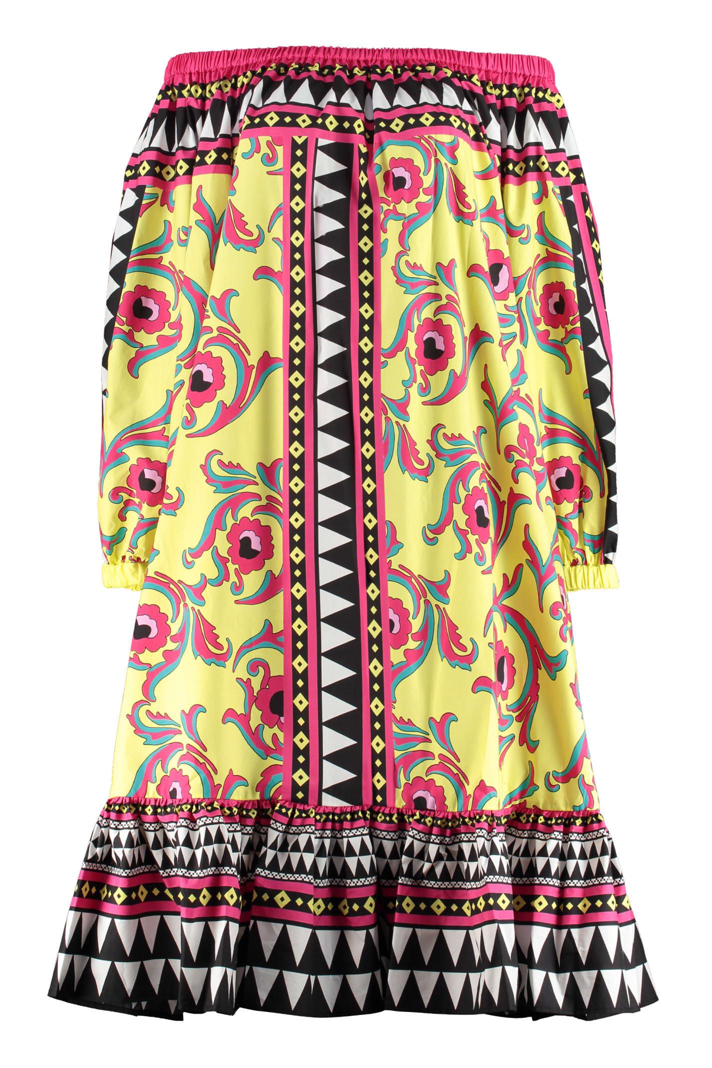 Buy La DoubleJ Paloma Printed Cotton Dress online, shop La DoubleJ with free shipping