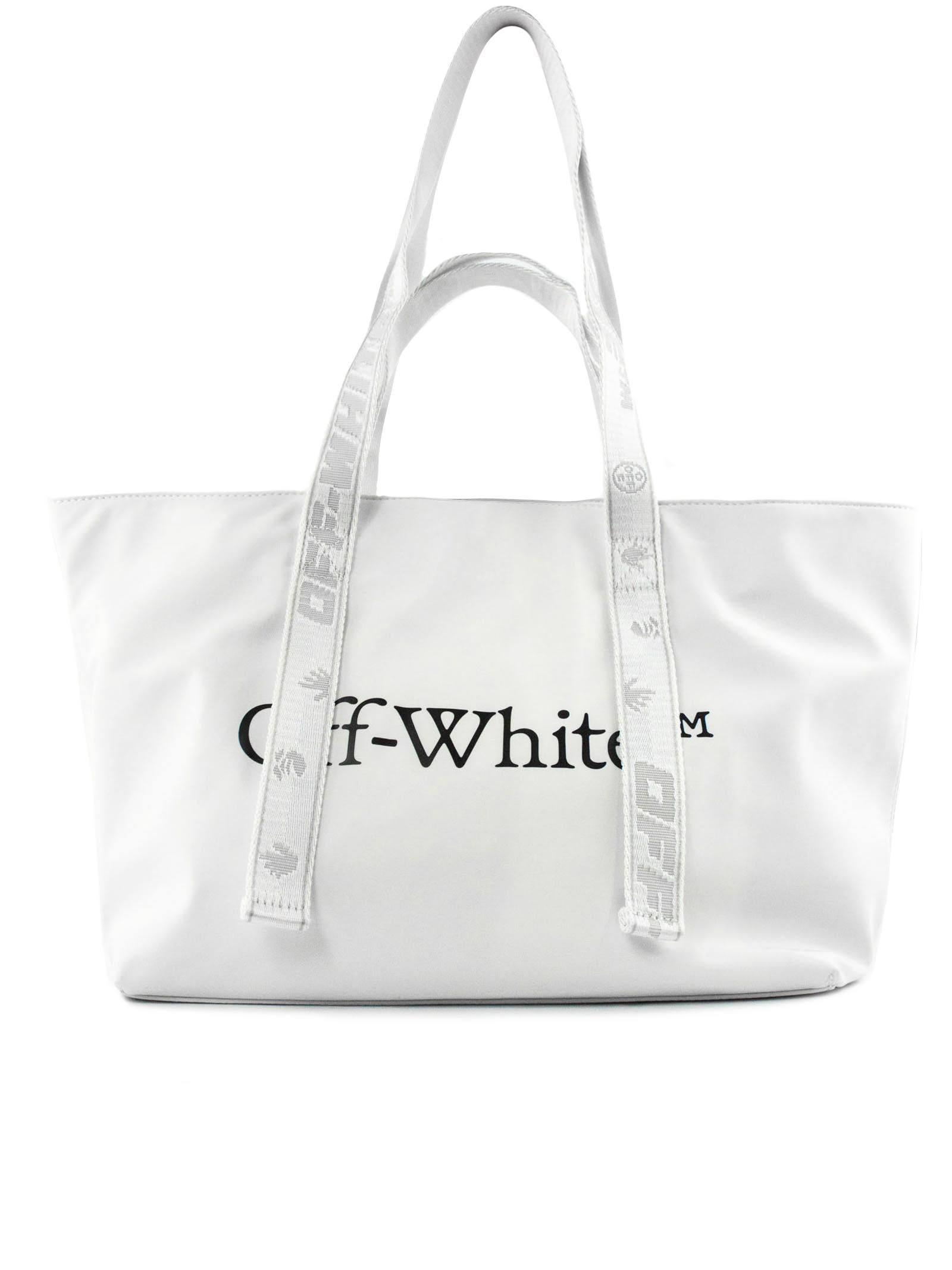 Off-White Small Commercial White Handbag