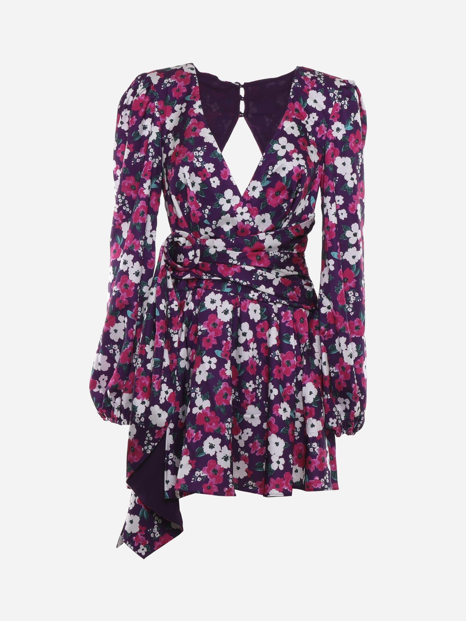 Buy For Love & Lemons Hallie Mini Dress With Floral Print online, shop For Love & Lemons with free shipping