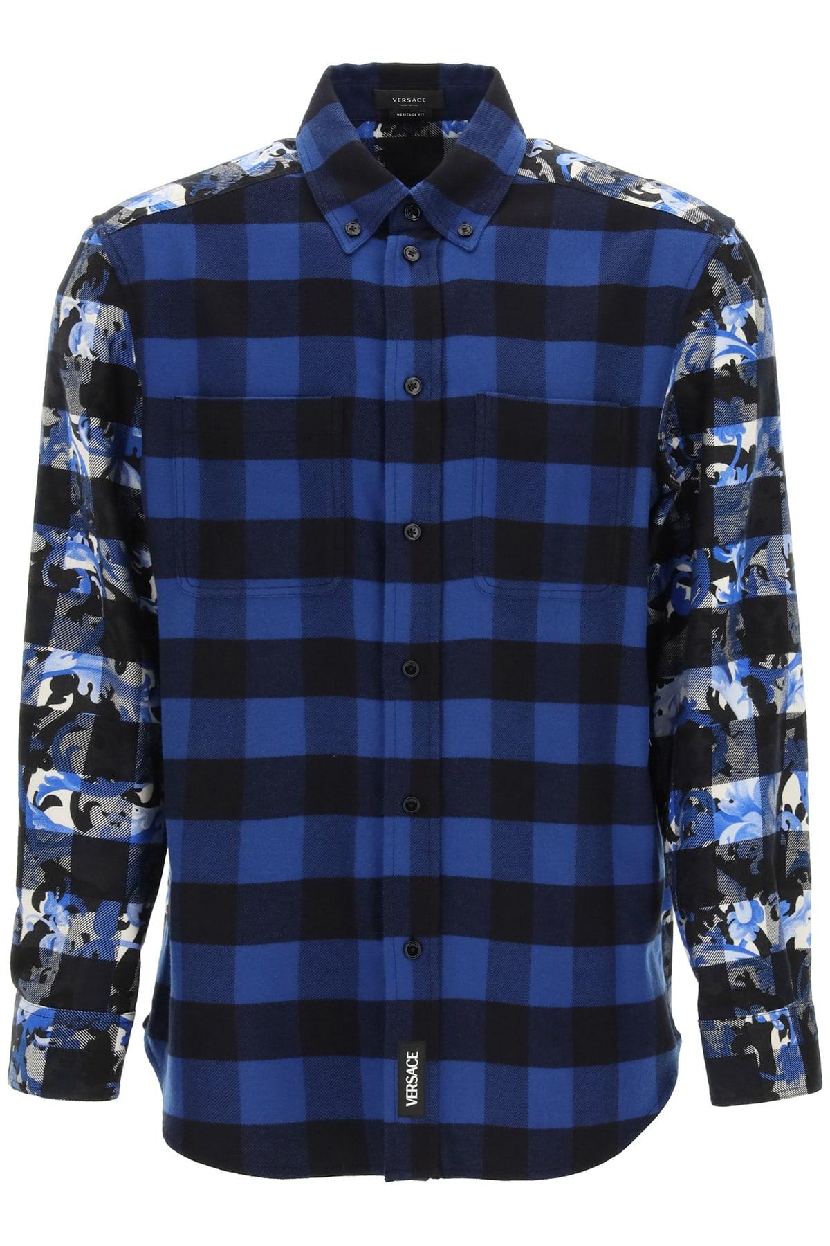 Versace Baroccoflage Flannel Shirt
