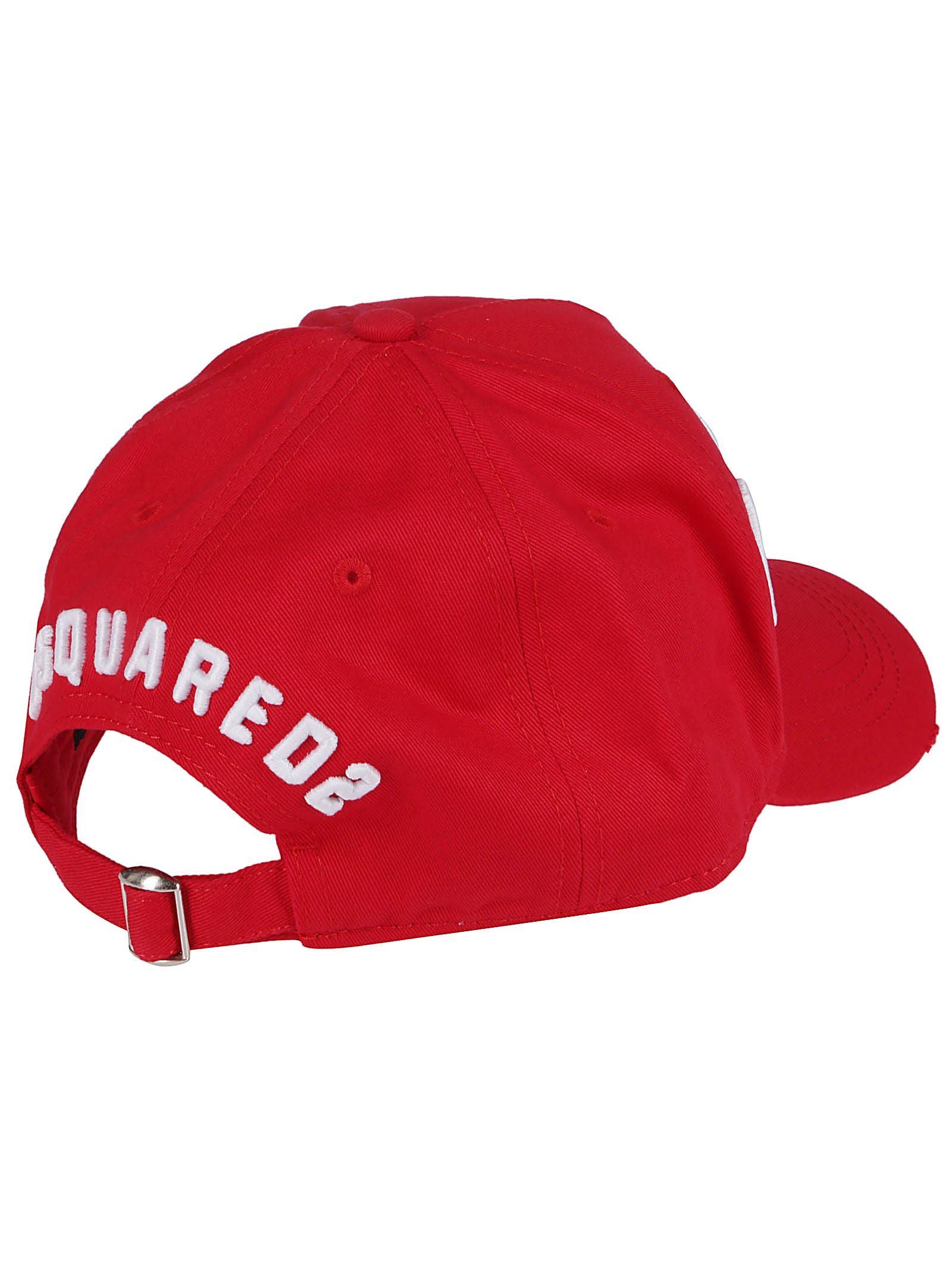 High Quality Dsquared2 Red Cotton Icon Baseball Cap