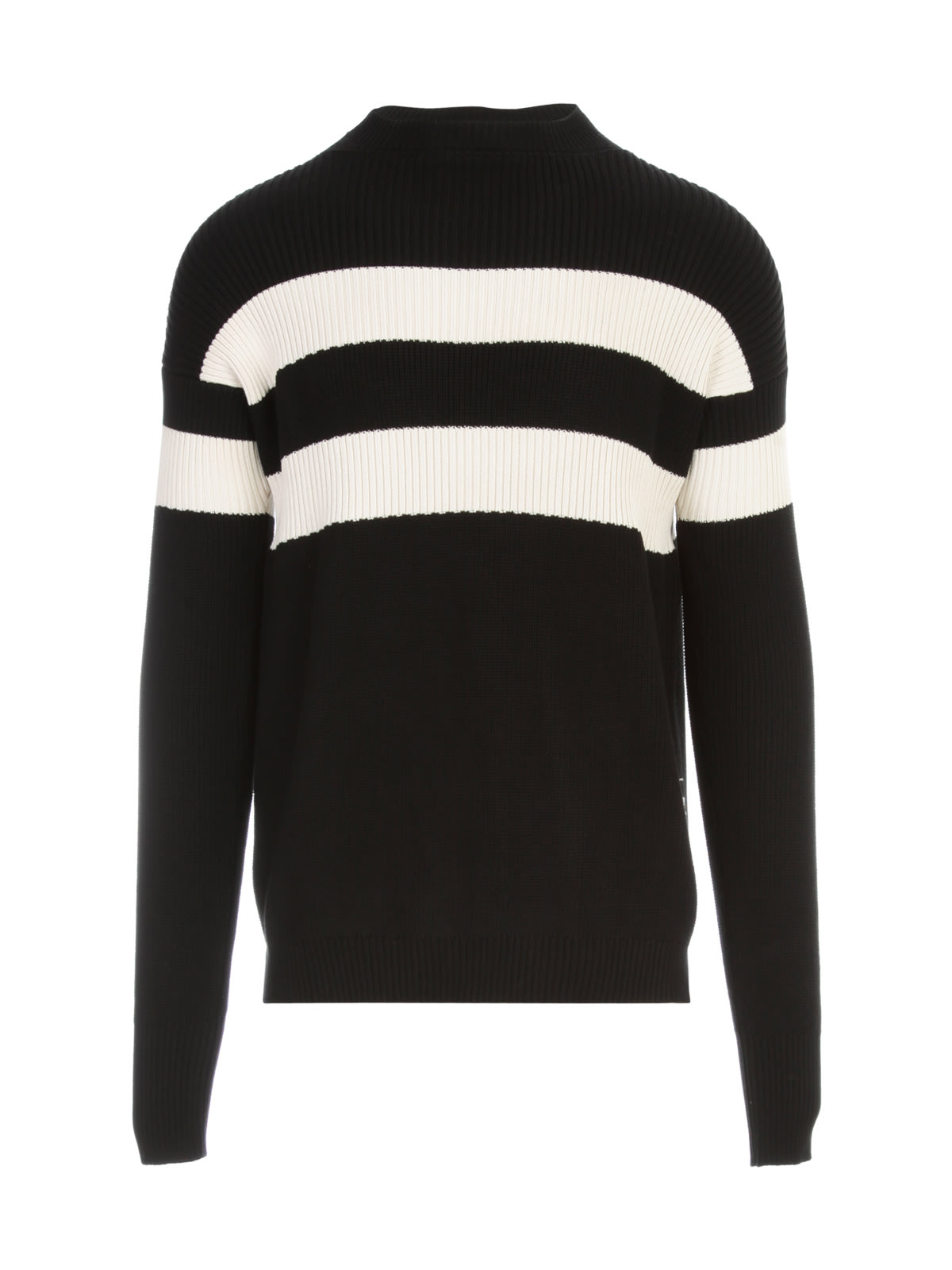 Marni COTTON STRIPED CREW NECK L/S SWEATER