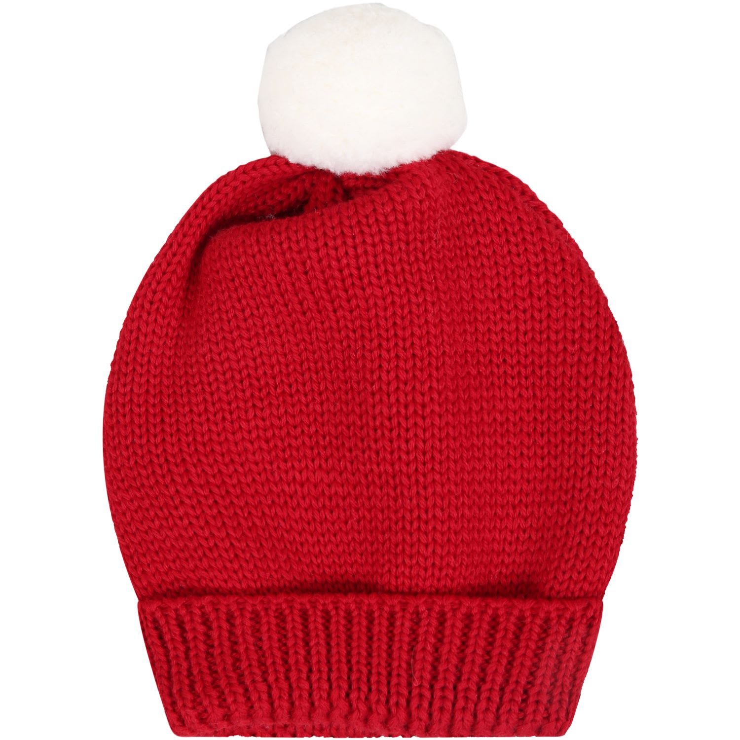 Red Hat For Babykids With Pompon
