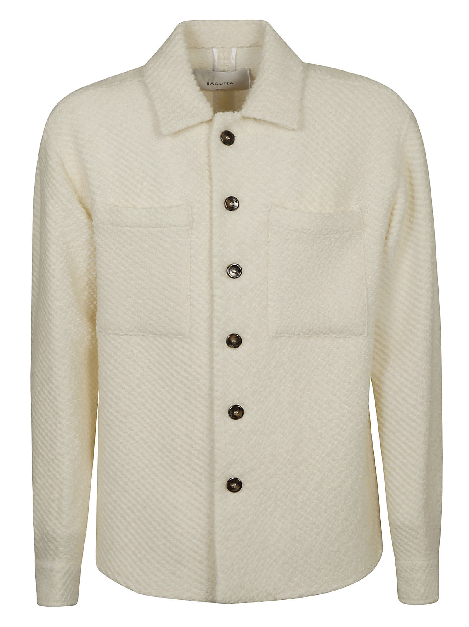 Double Patch Pocket Long-sleeved Shirt