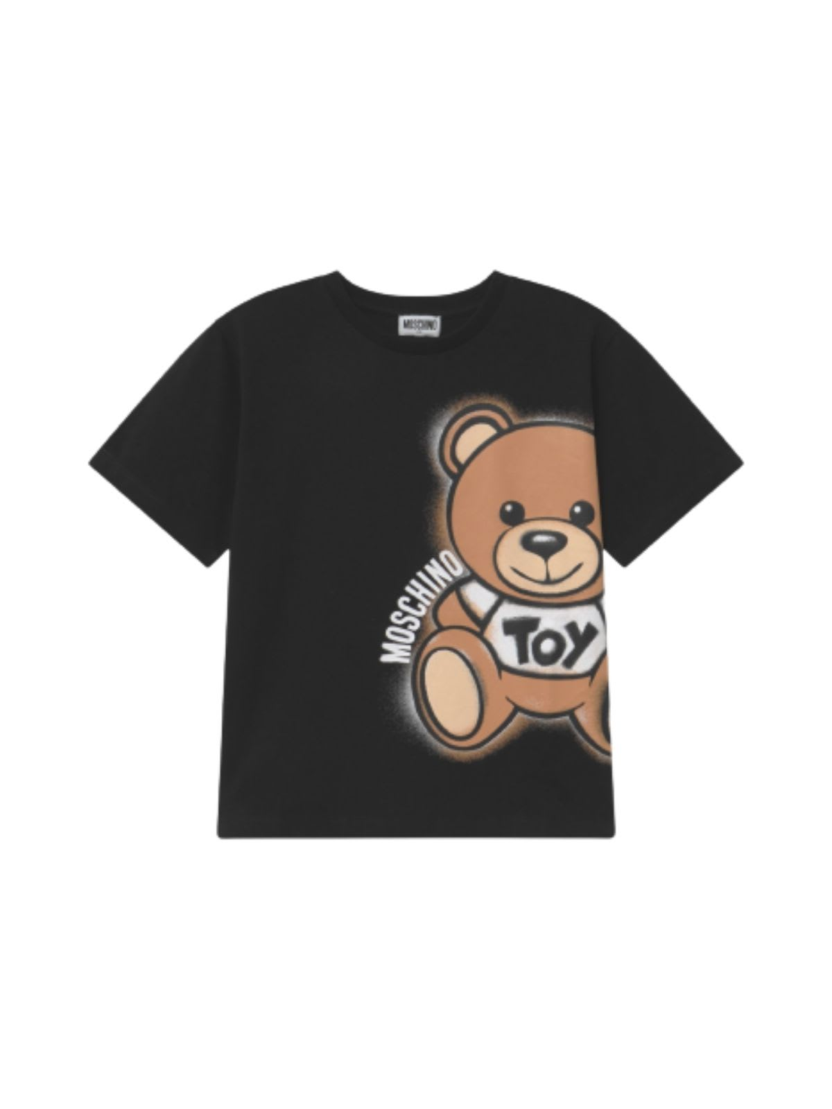 Moschino MAXI T-SHIRT W/SIDE TEDDY
