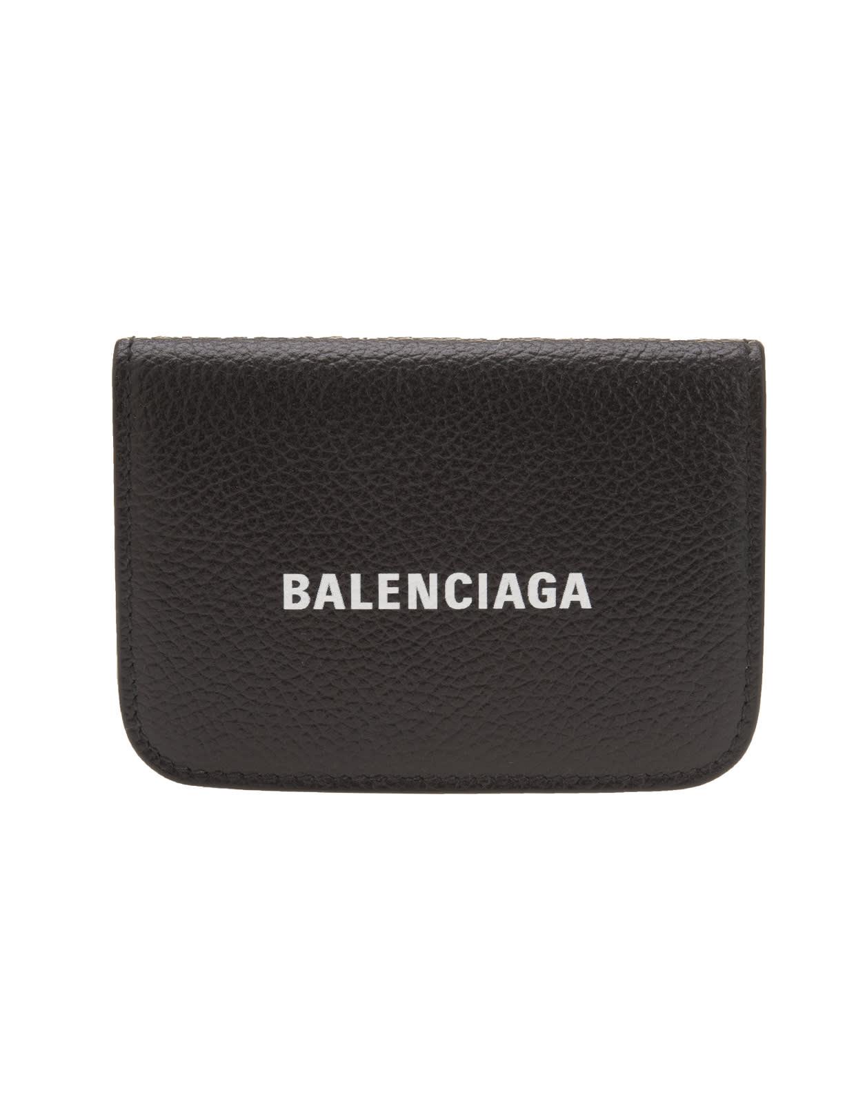 Balenciaga BLACK CASH MINI WALLET