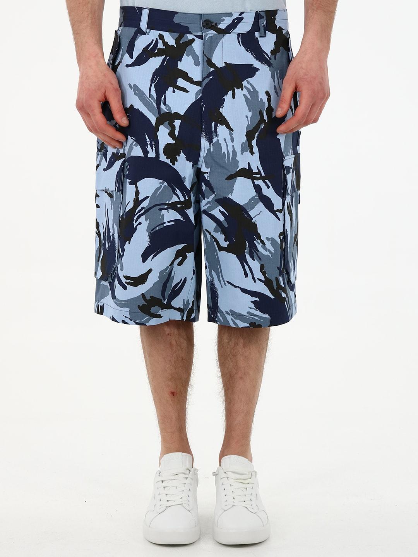 Kenzo Clothing PRINTED CARGO SHORTS