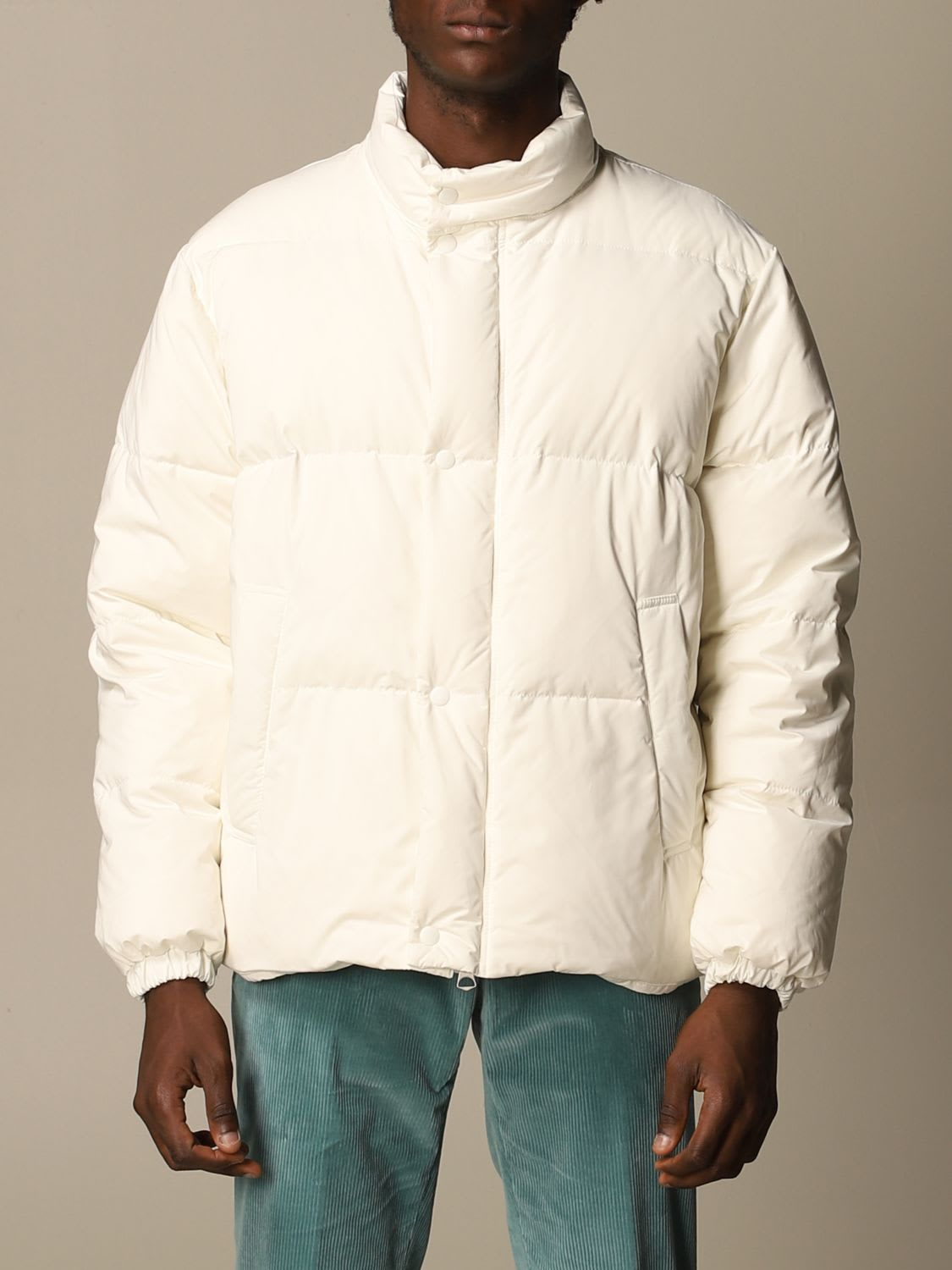 Grifoni Jacket Grifoni Puffy Down Jacket In Padded Cotton