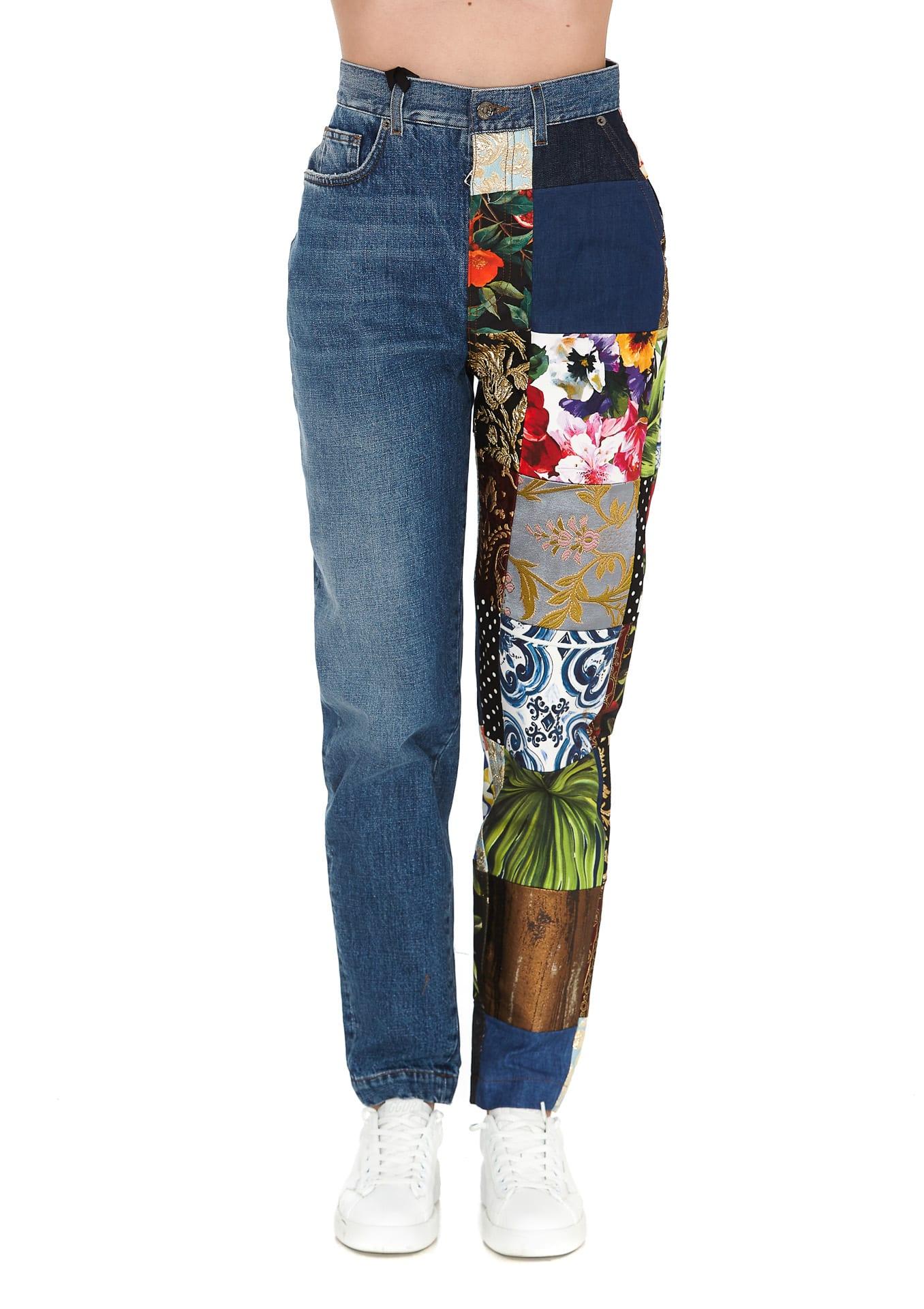 Dolce & Gabbana Pants PATCH JEANS