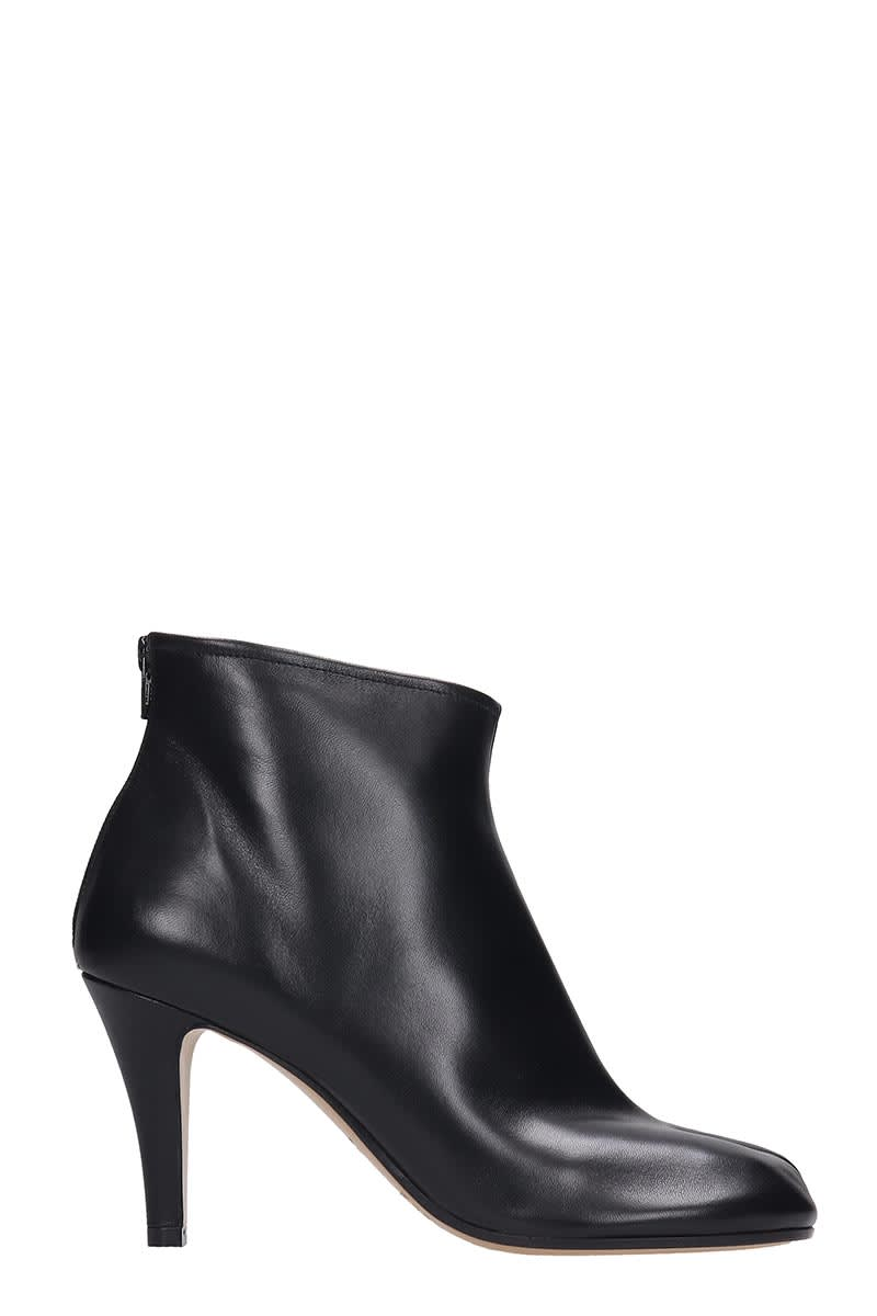 free delivery high quality guarantee super specials Maison Margiela Ankle Boots In Black Leather