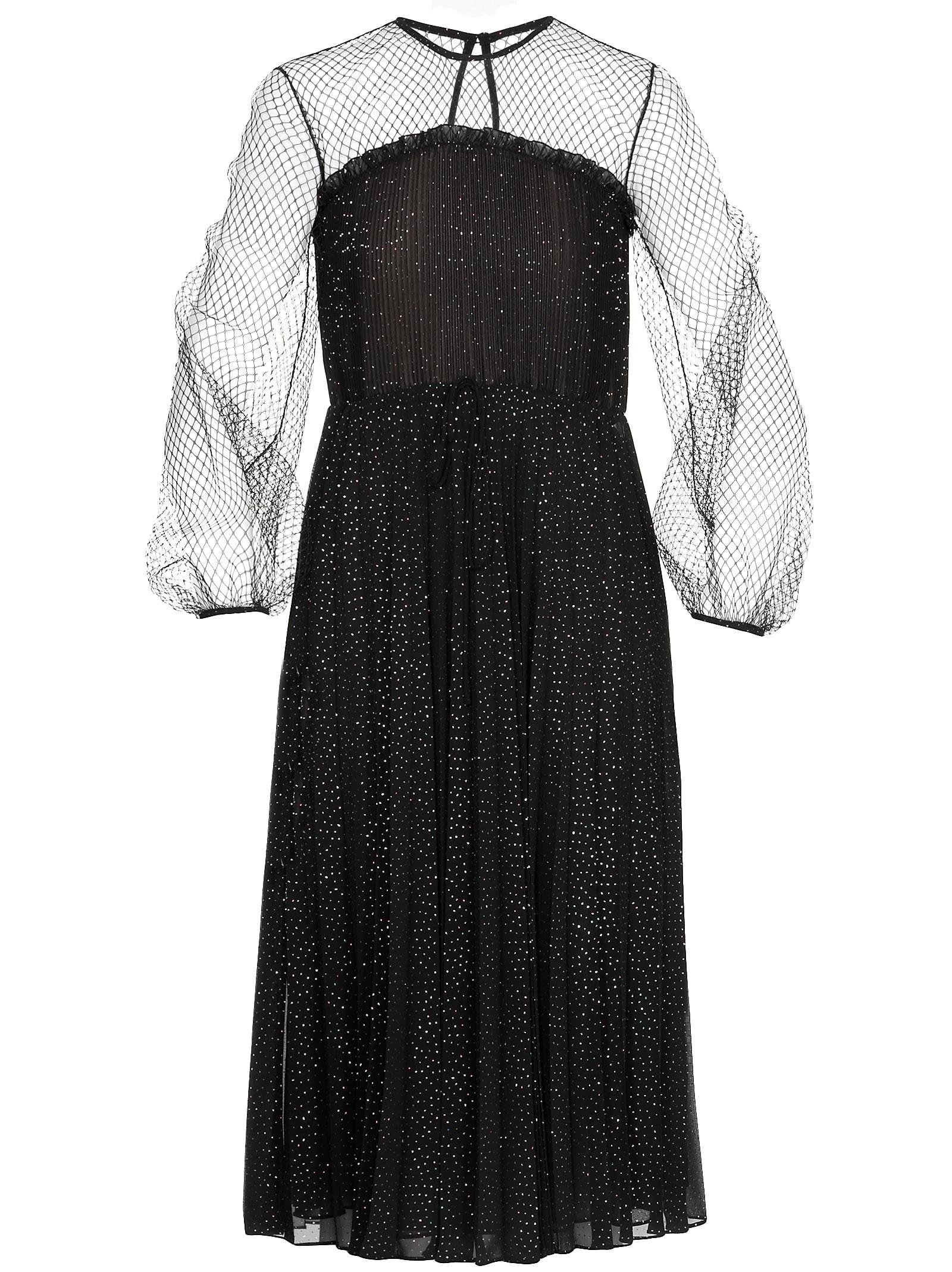 Buy Marco de Vincenzo Lurex Pleated Dress online, shop Marco de Vincenzo with free shipping