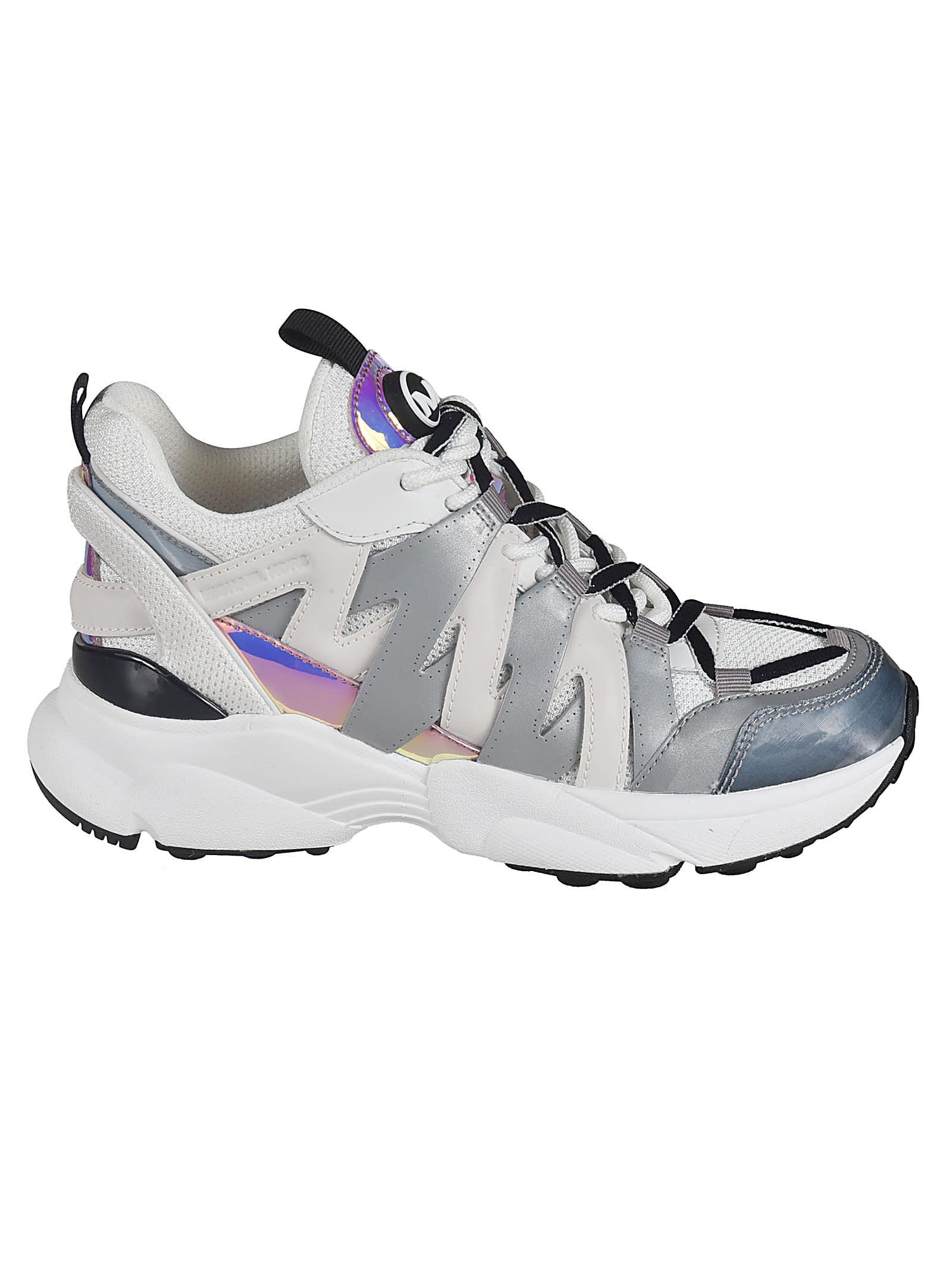 michael kors woven sneakers