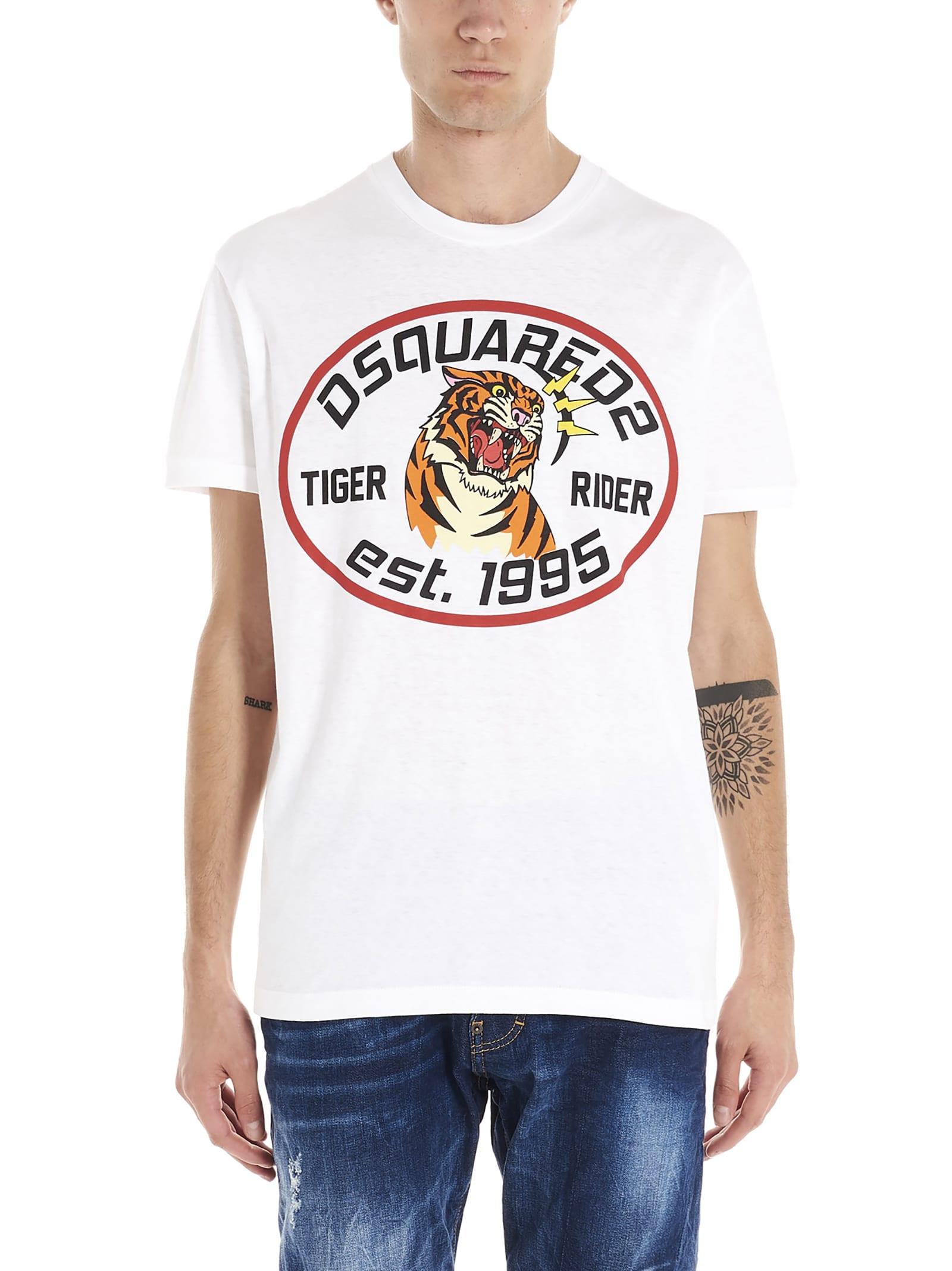 Dsquared2 tiger T-shirt