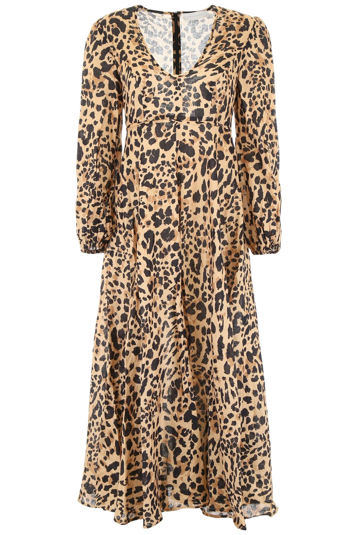 Buy Zimmermann Leopard-printed Dress online, shop Zimmermann with free shipping