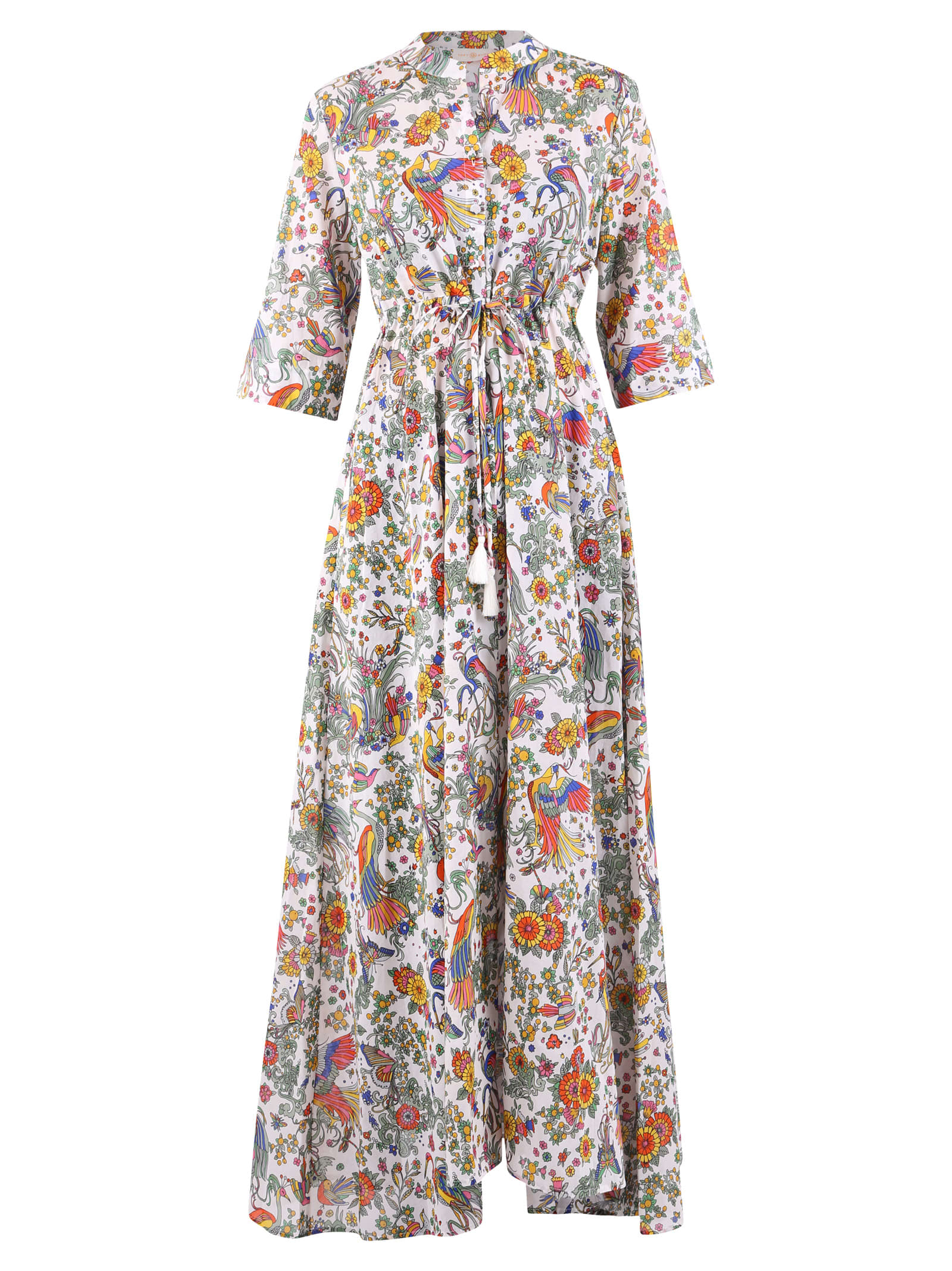 Buy Tory Burch Flowers Pattern Dress online, shop Tory Burch with free shipping