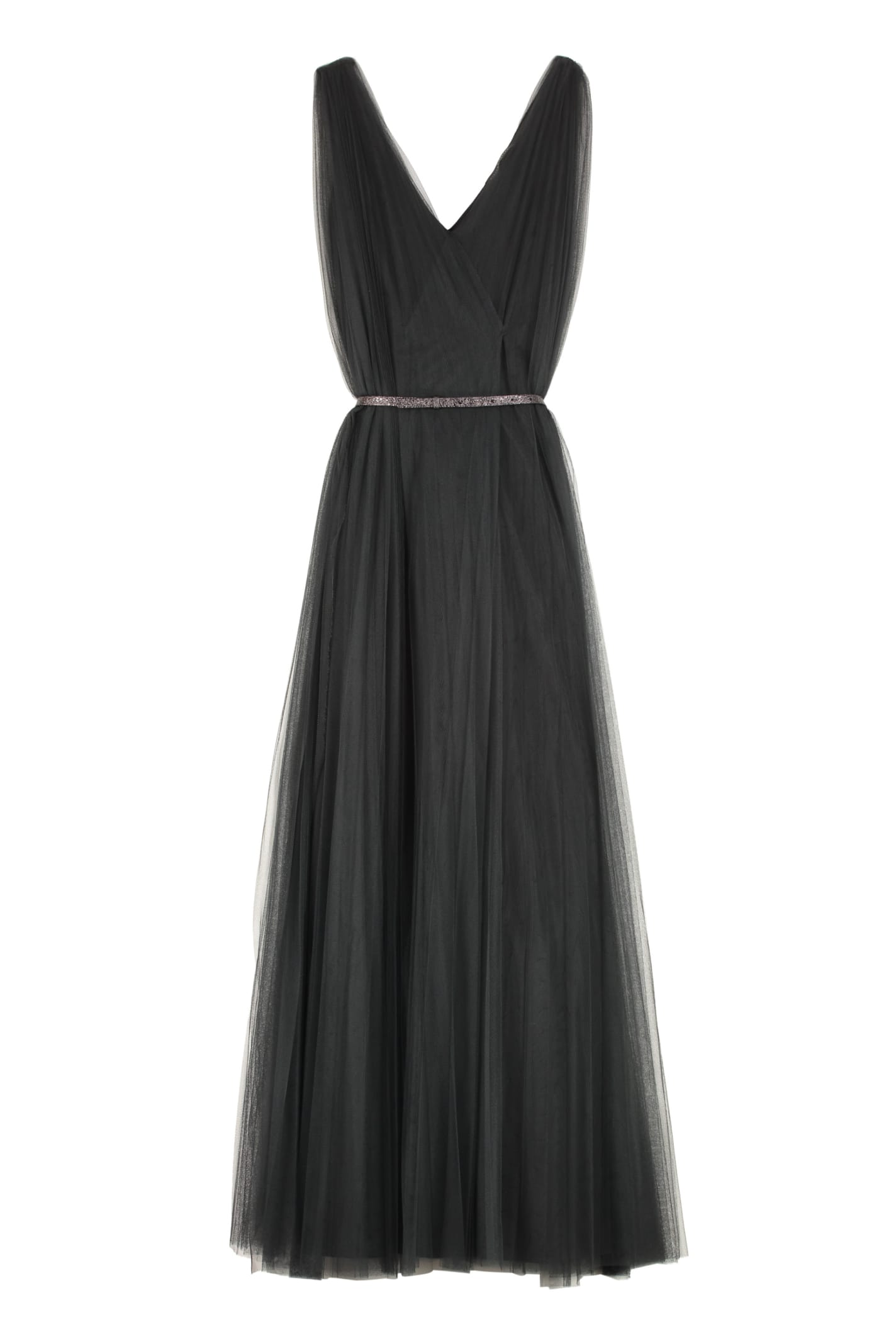 Buy Fabiana Filippi Tulle Maxi Dress online, shop Fabiana Filippi with free shipping