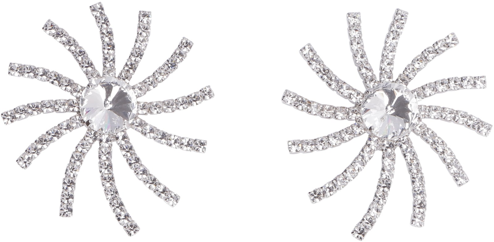 Recommend Cheap Alessandra Rich Faba Maxi Earrings With Crystals